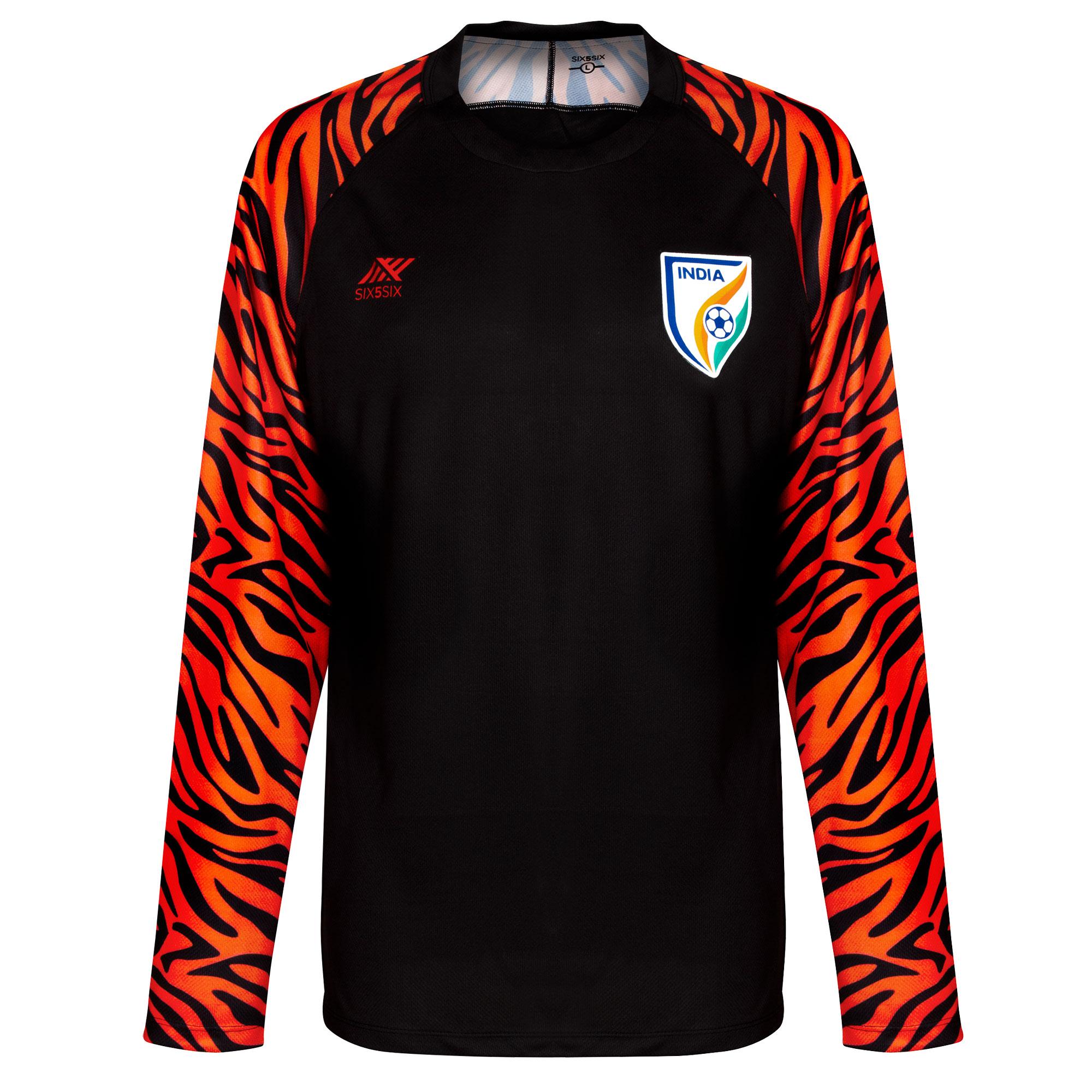 Six5six India Mens Ls Goalkeeper Home Shirt 2019 S5smss180062 L Footy Com