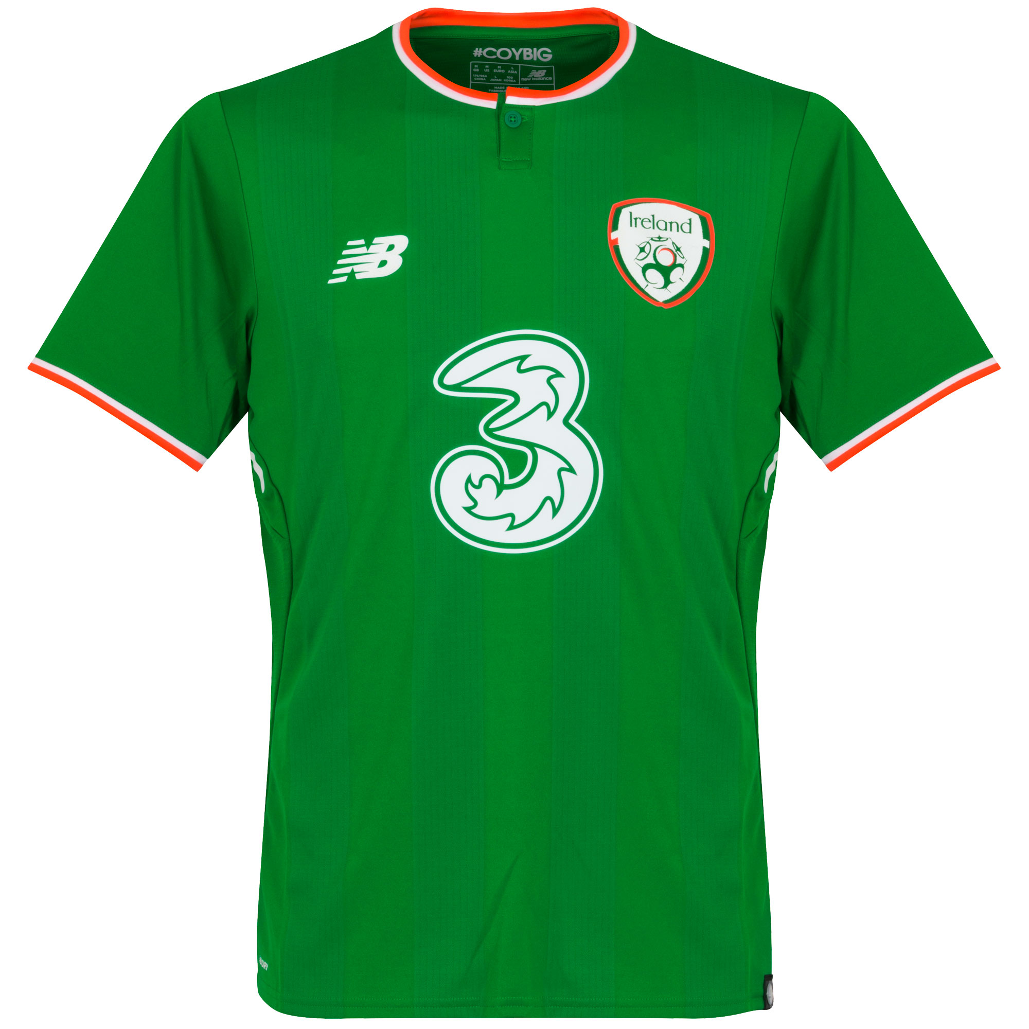 Republic of Ireland Home baju