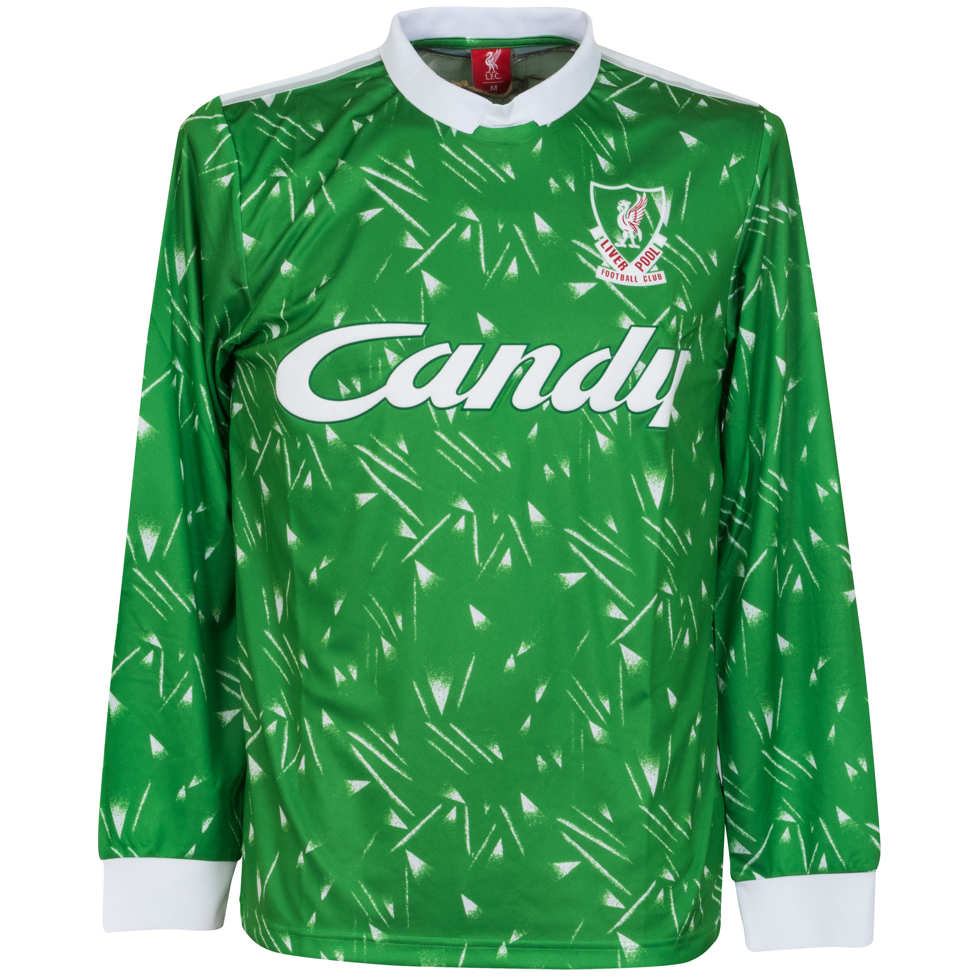 89-91 Liverpool Home Retro GK Shirt