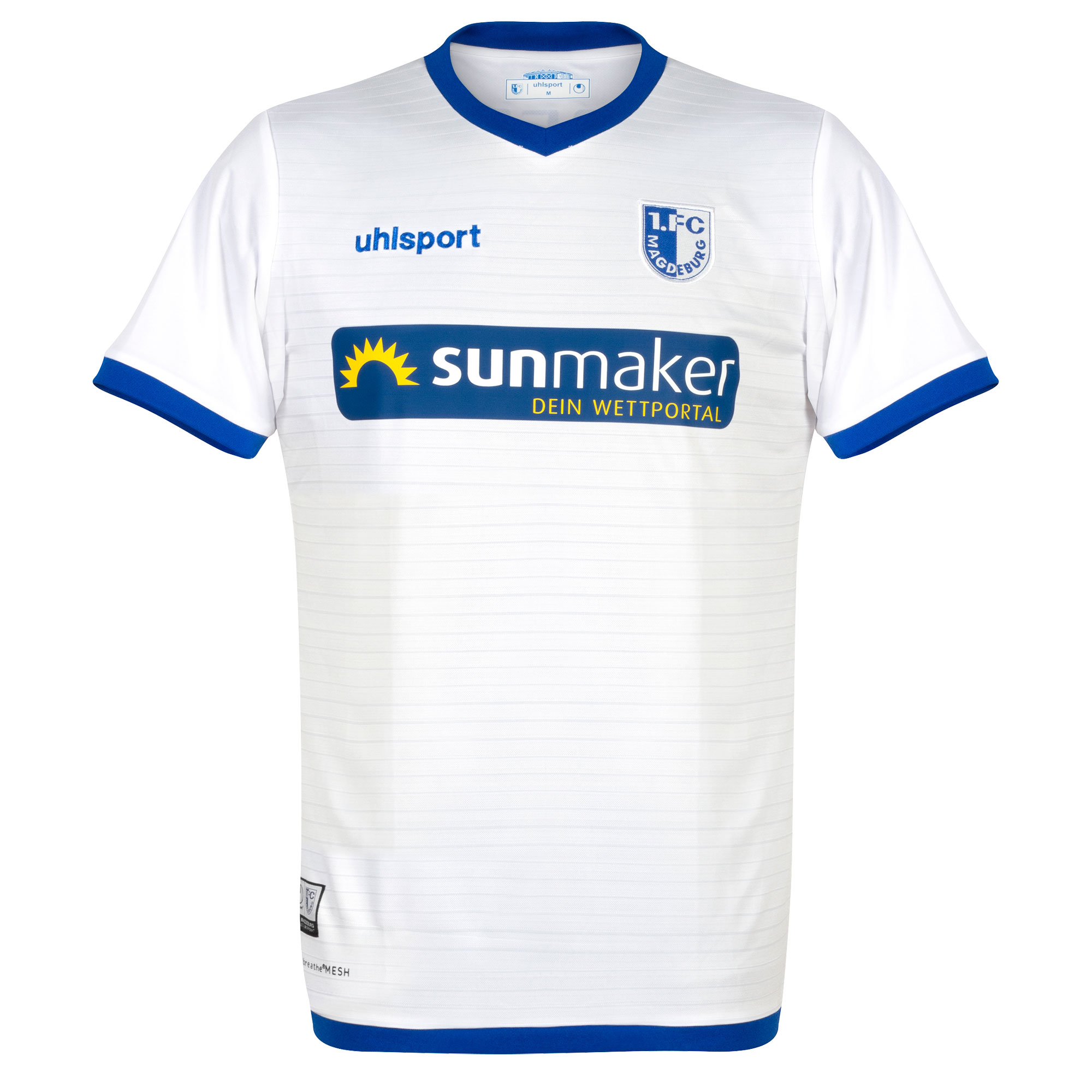 Uhlsport 1.FC Madgeburg Away Shirt 2019-2020