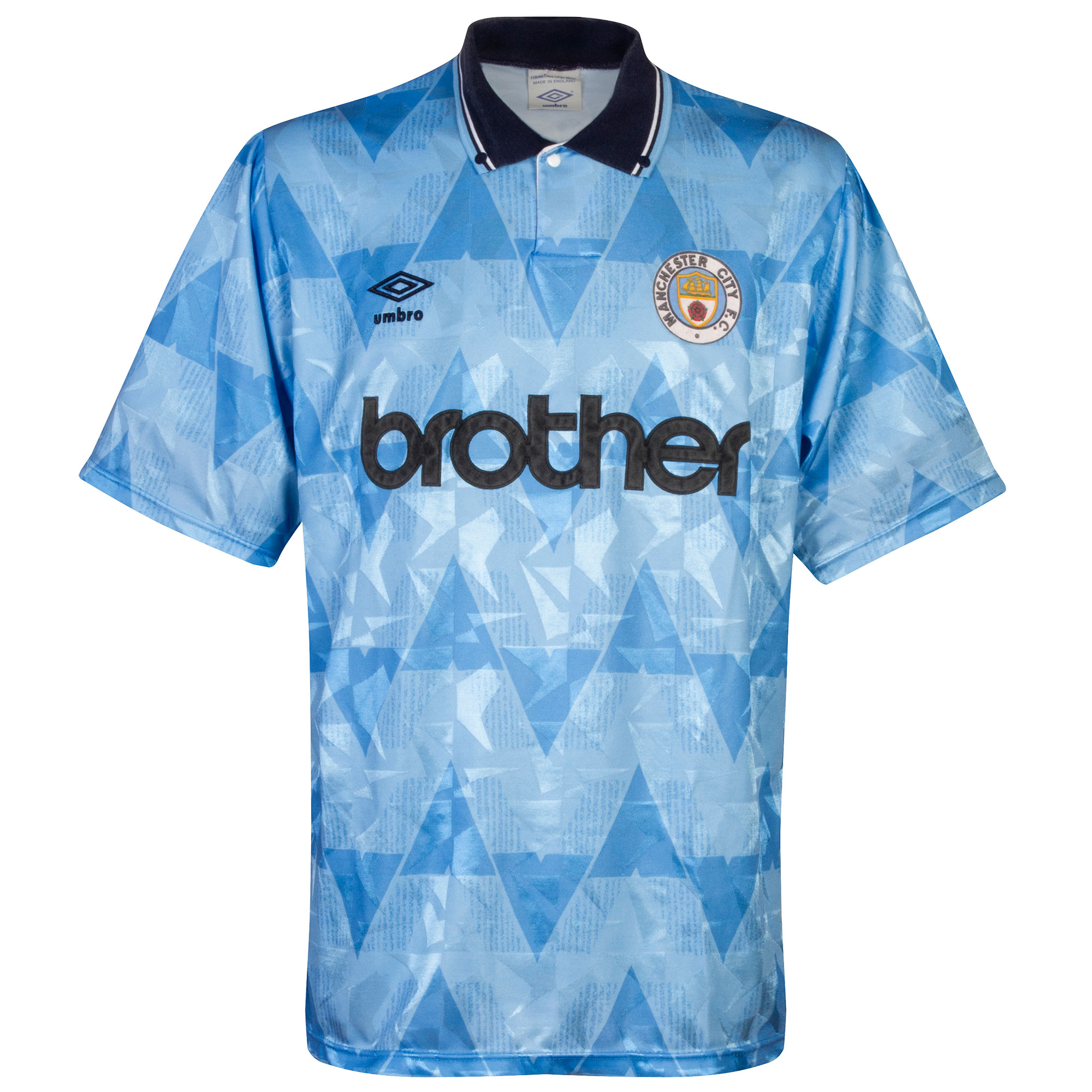Umbro Manchester City 1989-1991 Home Shirt - USED Condition (Great) - Size Medium