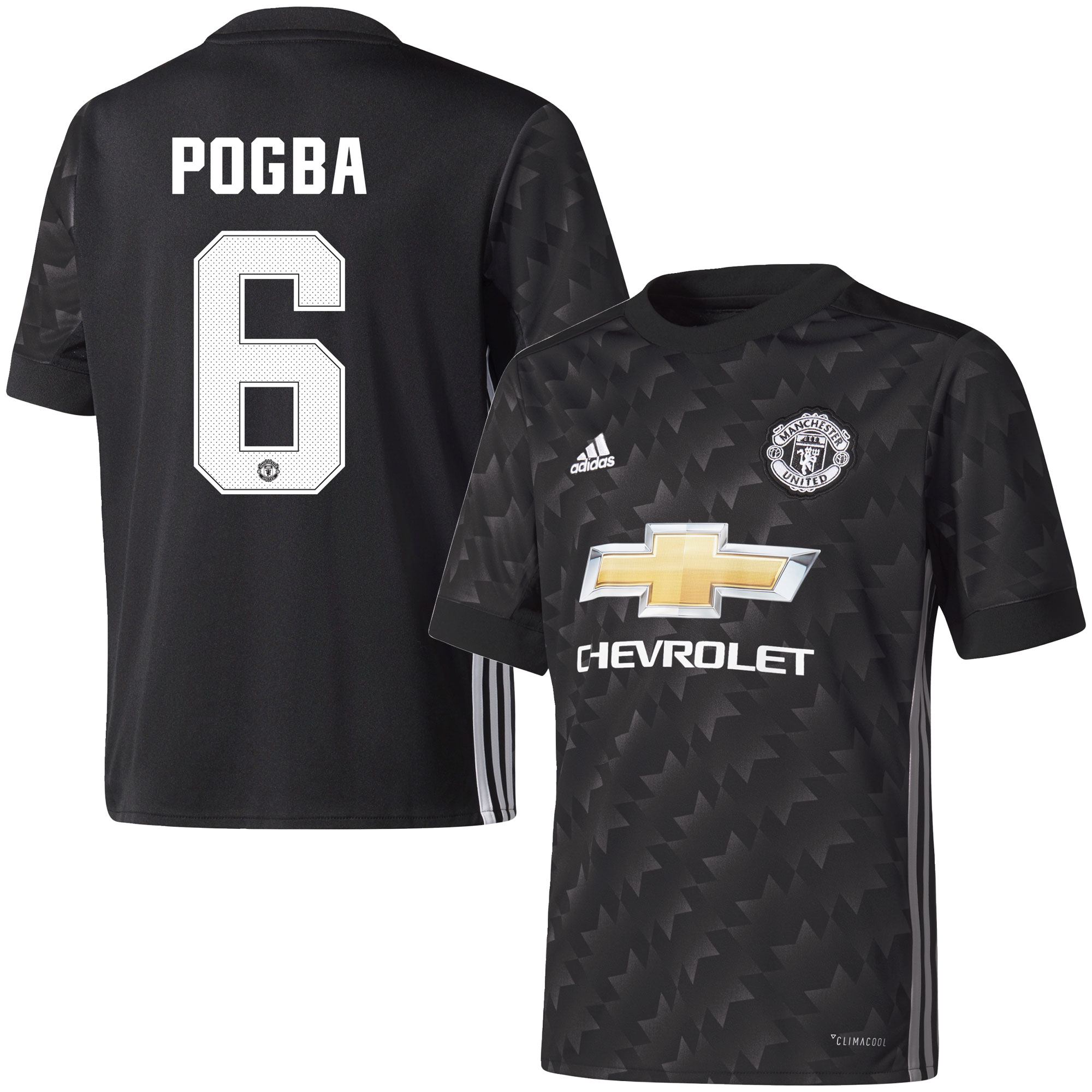 Manchester United Away Pogba Jersey 2017 / 2018 (Official Cup Printing) - 42