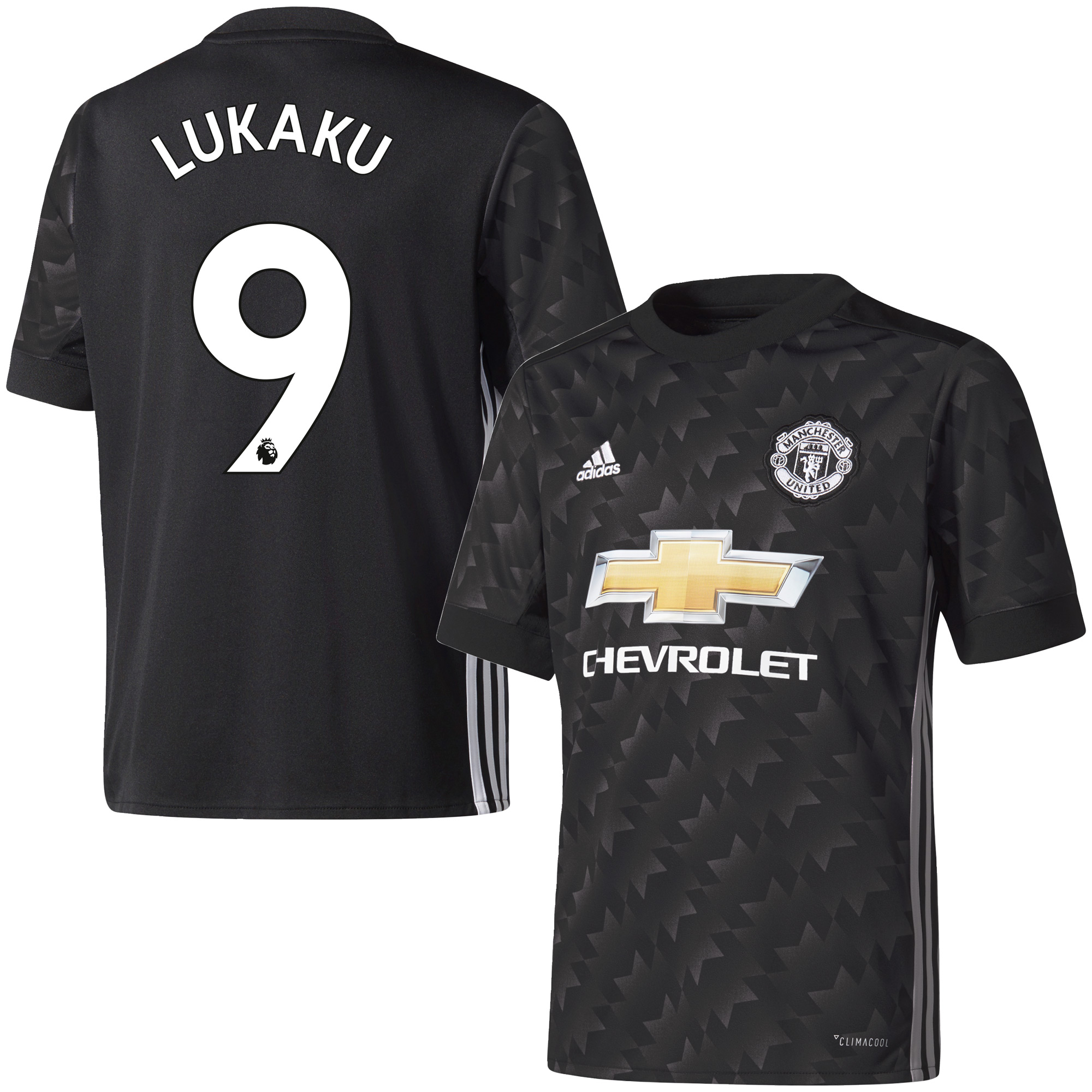 Manchester United Away Lukaku Jersey 2017 / 2018 (Authentic EPL Printing) - 54