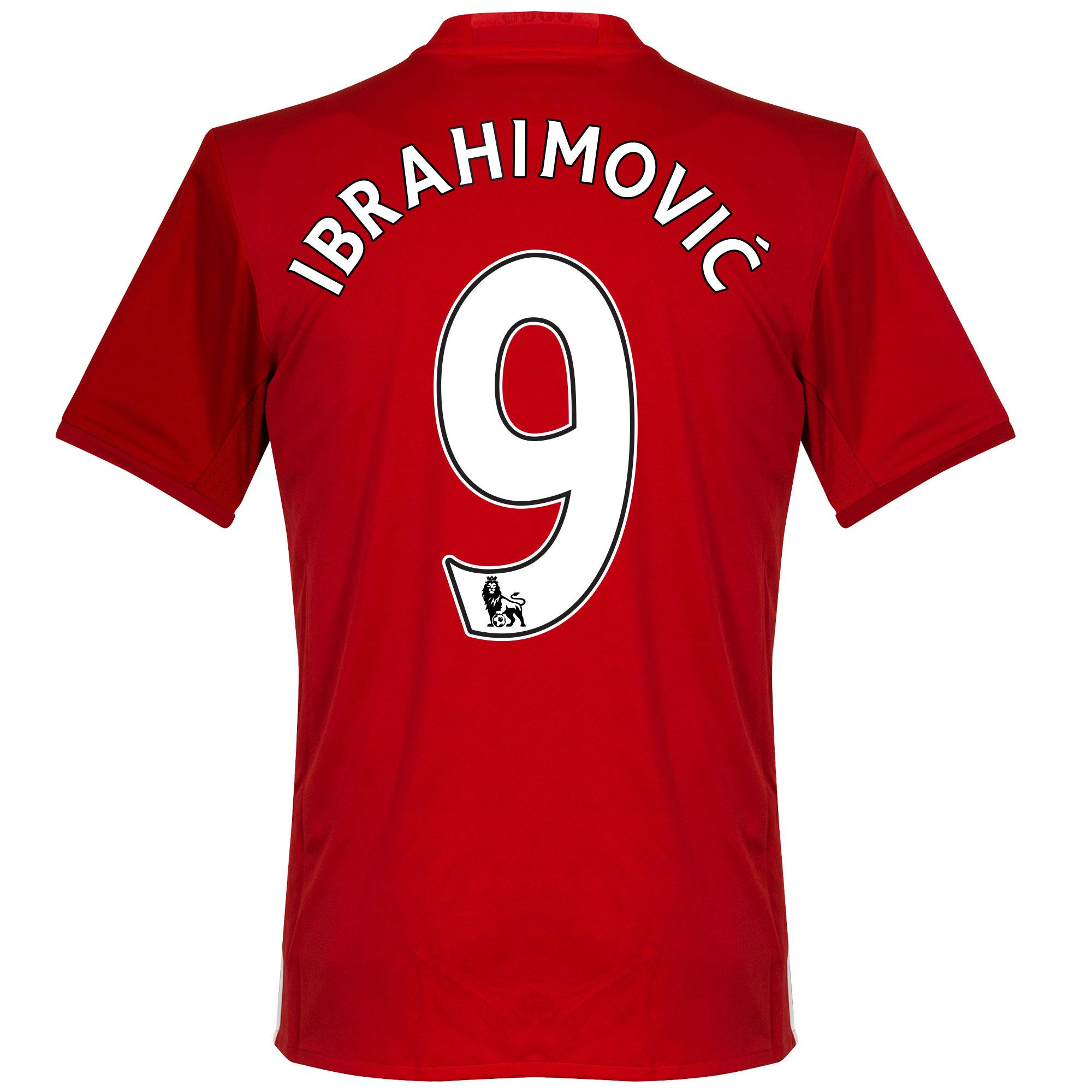 Manchester United Shirt Thuis 2016-2017 + Ibrahimovic 9