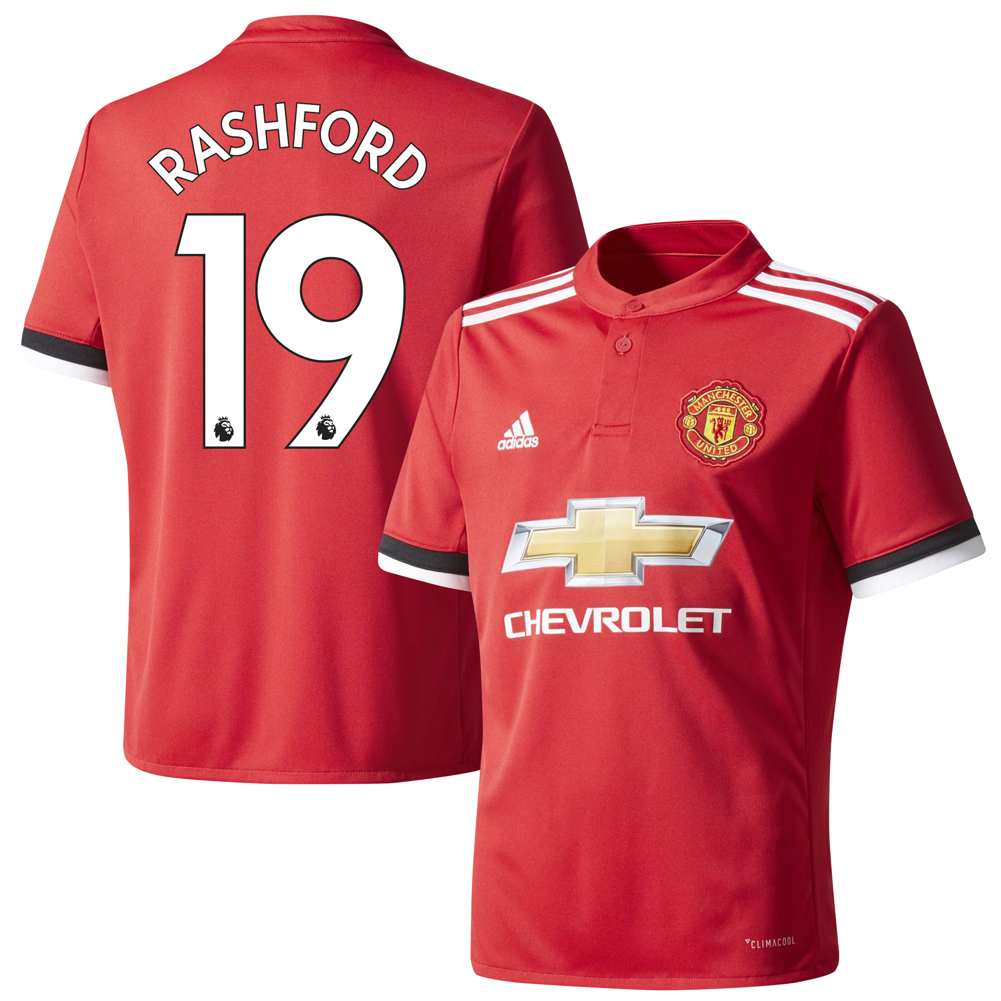 Manchester United Home Rashford Jersey 2017 / 2018 (Authentic EPL Printing) - 66