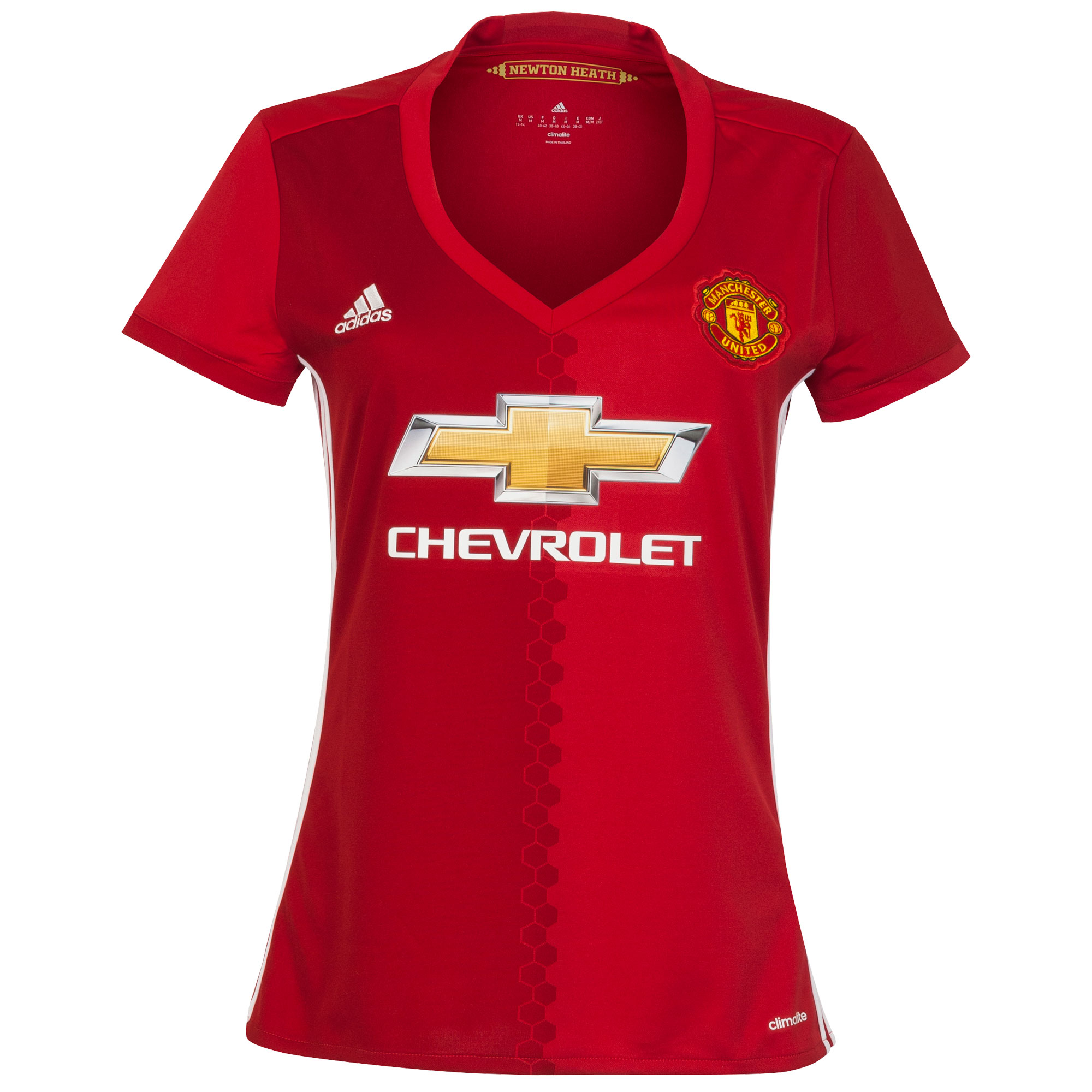 Manchester United Dames Shirt Thuis 2016-2017