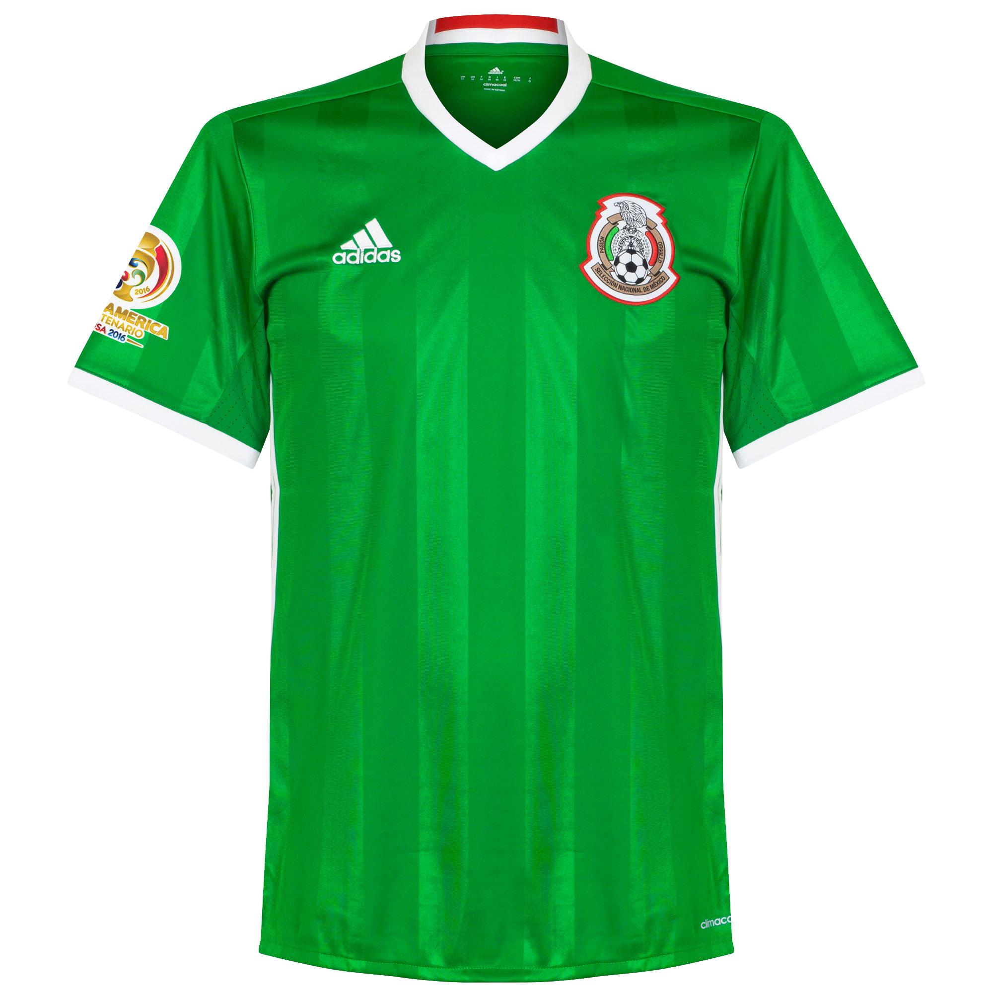 Mexico Home Jersey 2016 / 2017 + Copa America Centenario Patch - 50