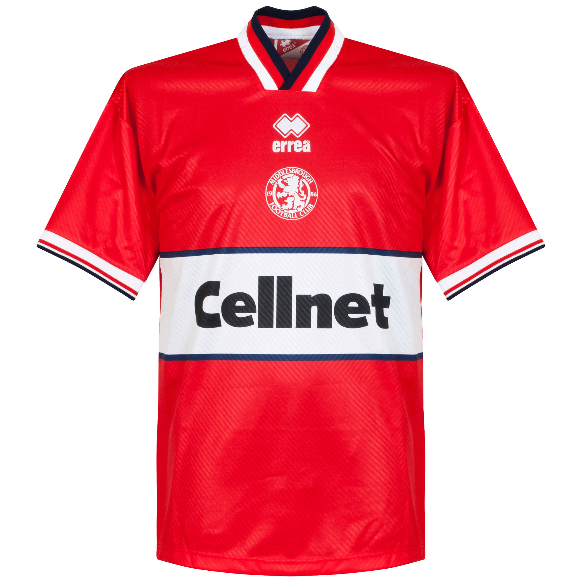 Errea Middlesborough 1997-1998 Home Shirt - NEW Condition - Size Large - L
