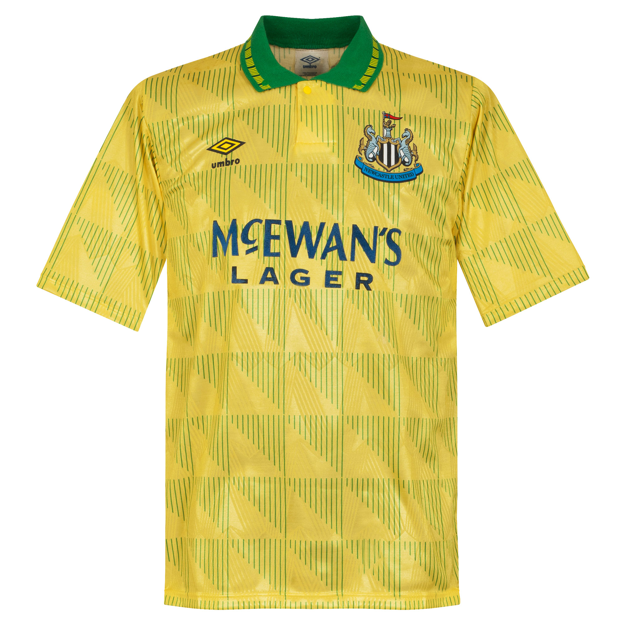 Umbro Newcastle United 1992-1993 Away Shirt - USED Condition (Great) - Size Large