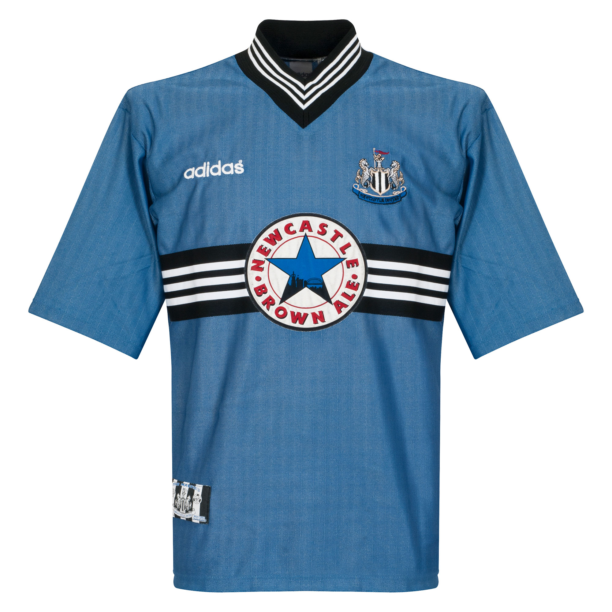 adidas Newcastle United 1996-1997 Away Shirt - USED Condition (Excellent) - Size Large
