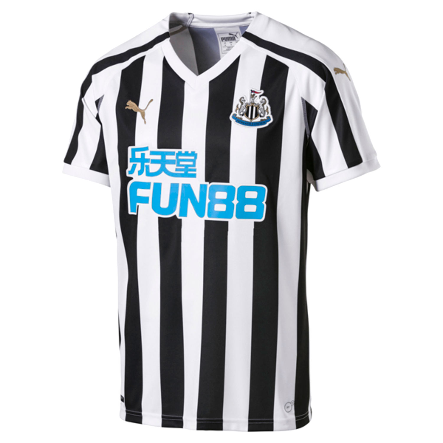Newcastle Utd Home Shirt 2018 2019