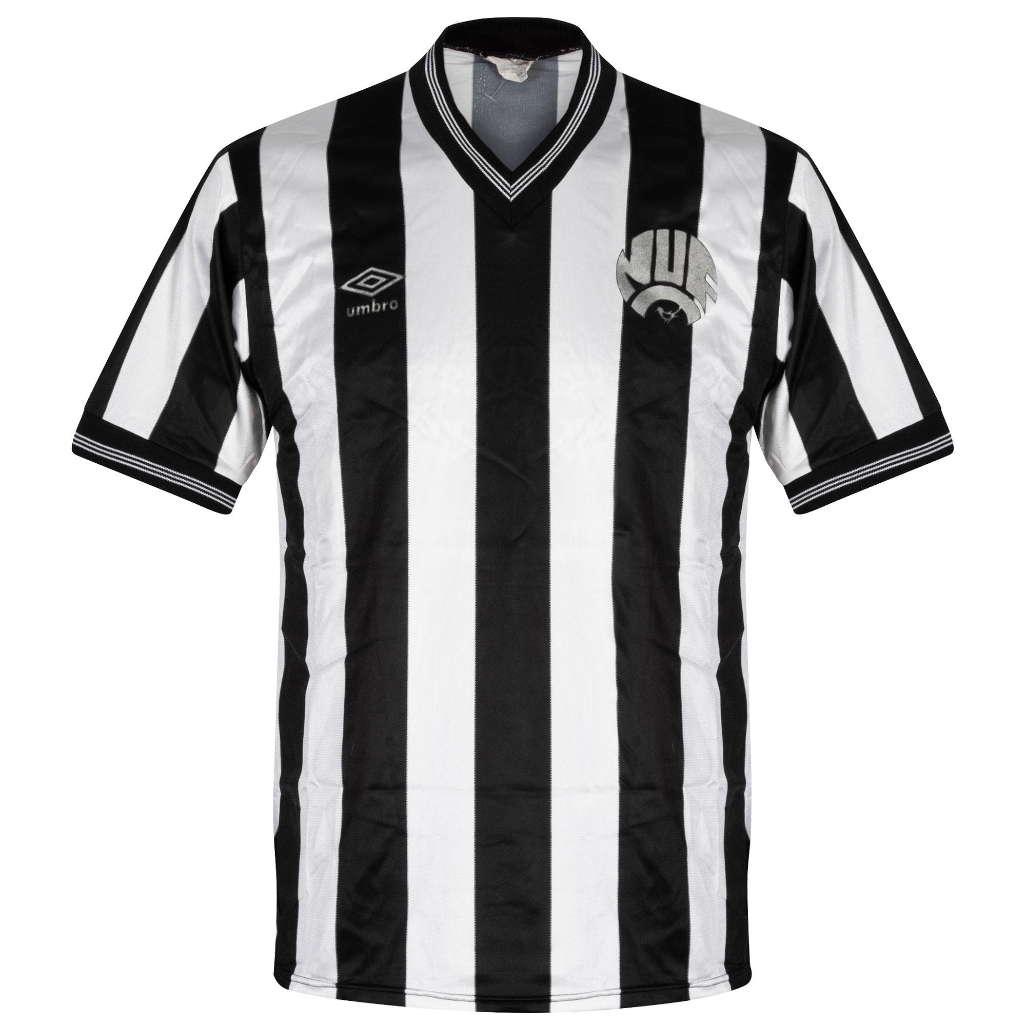 Umbro Newcastle United 1983-1987 Home Shirt- USED Condition (Good) - Extremely Rare - Size Medium