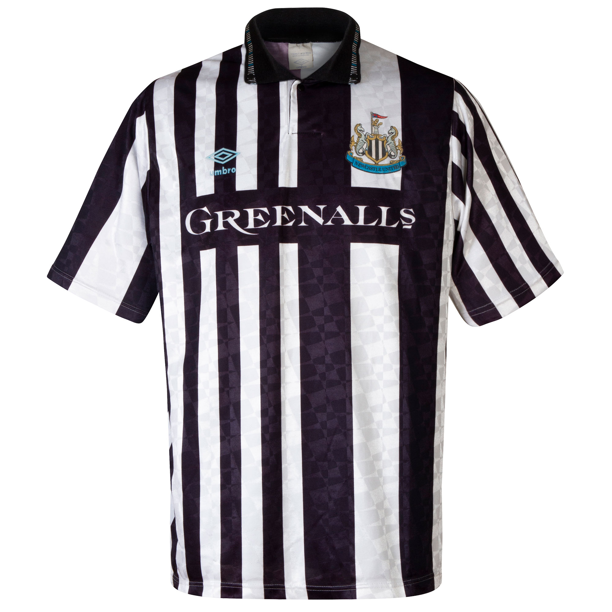 Umbro Newcastle United 1990-1991 Home Shirt - USED Condition (Good) - Size