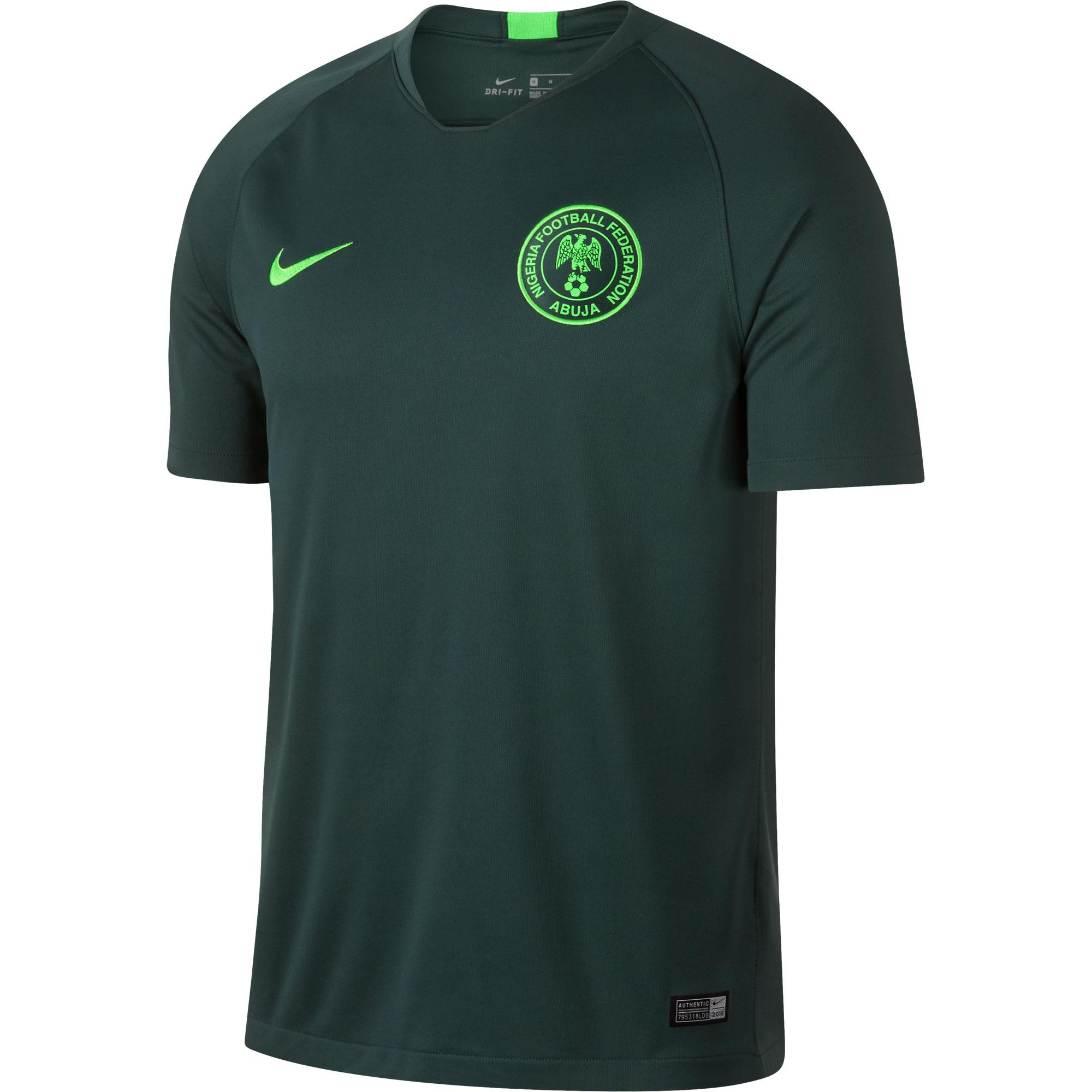 Nigeria Away Shirt 2018 2019