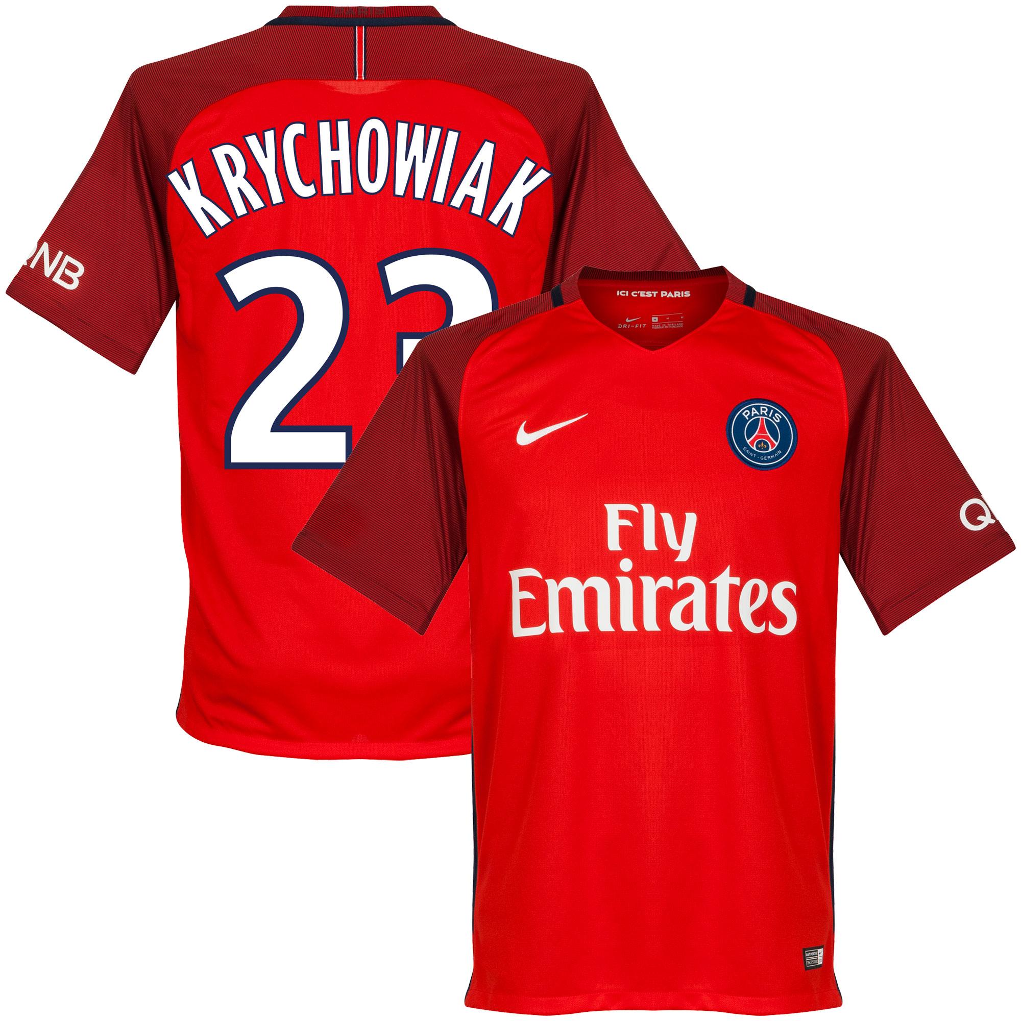 PSG Away Krychowiak Jersey 2016 / 2017 (Fan Style Printing) - M