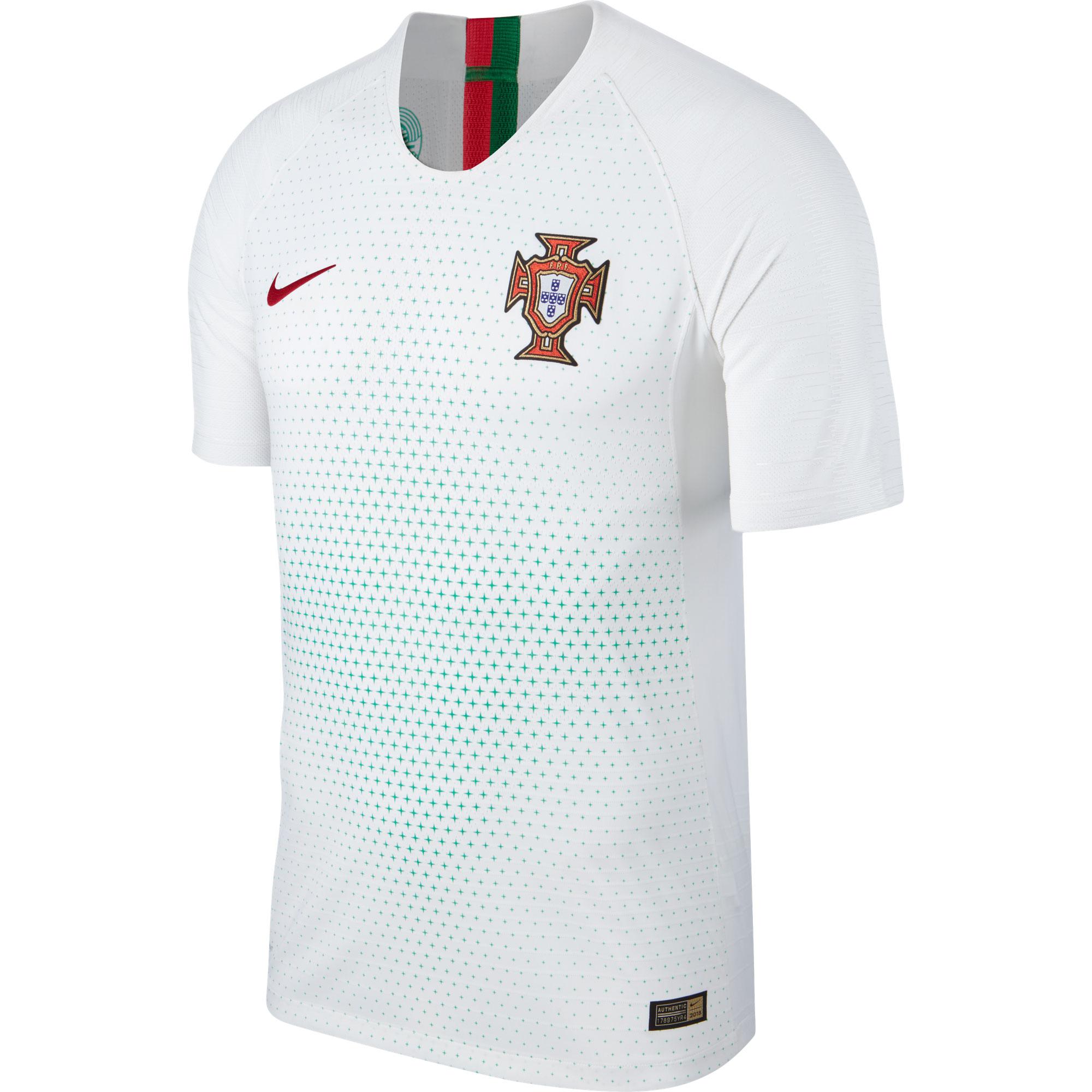 Portugal Vapor Away Match Shirt 2018 2019