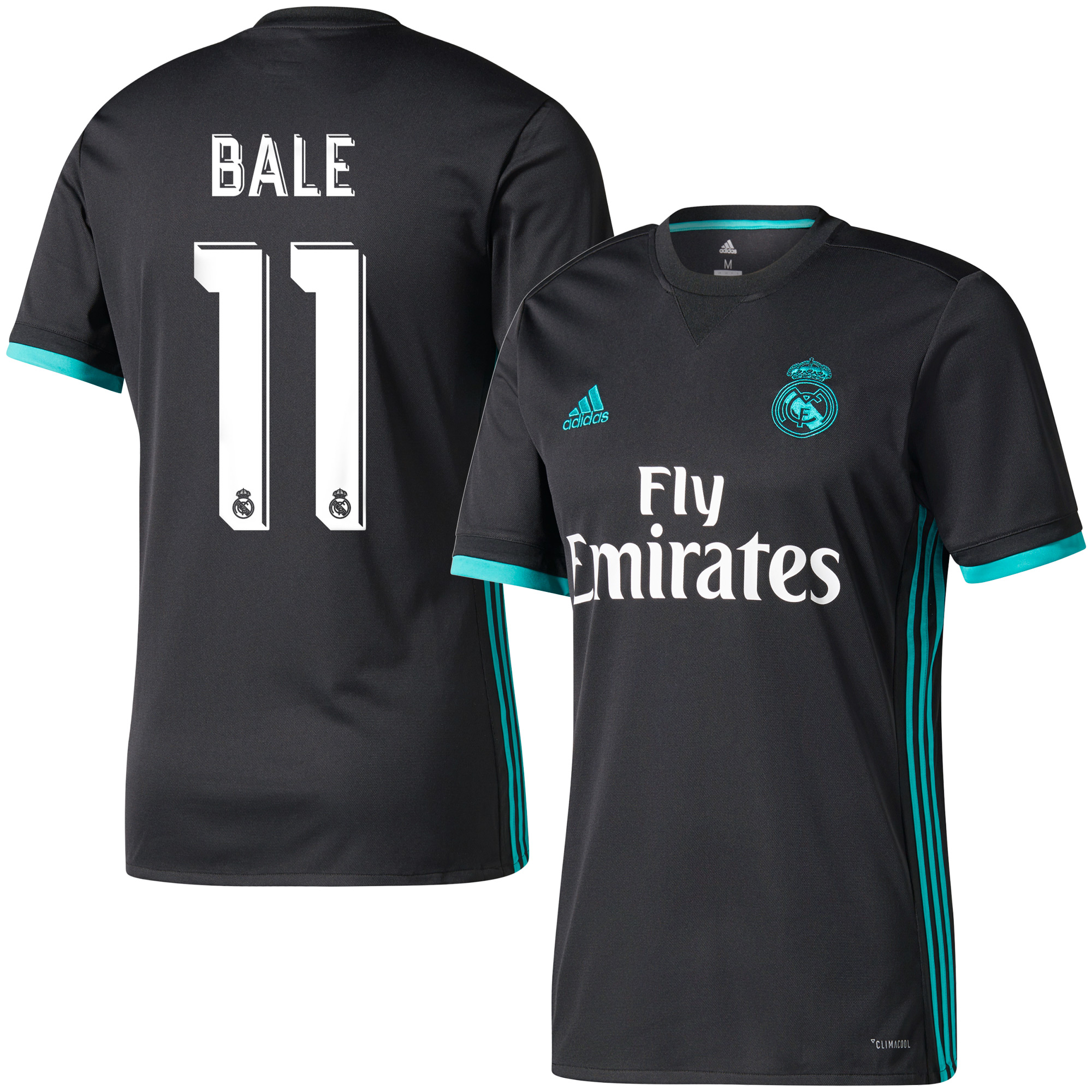 Real Madrid Away Bale Jersey 2017 / 2018 (Official Printing) - 54