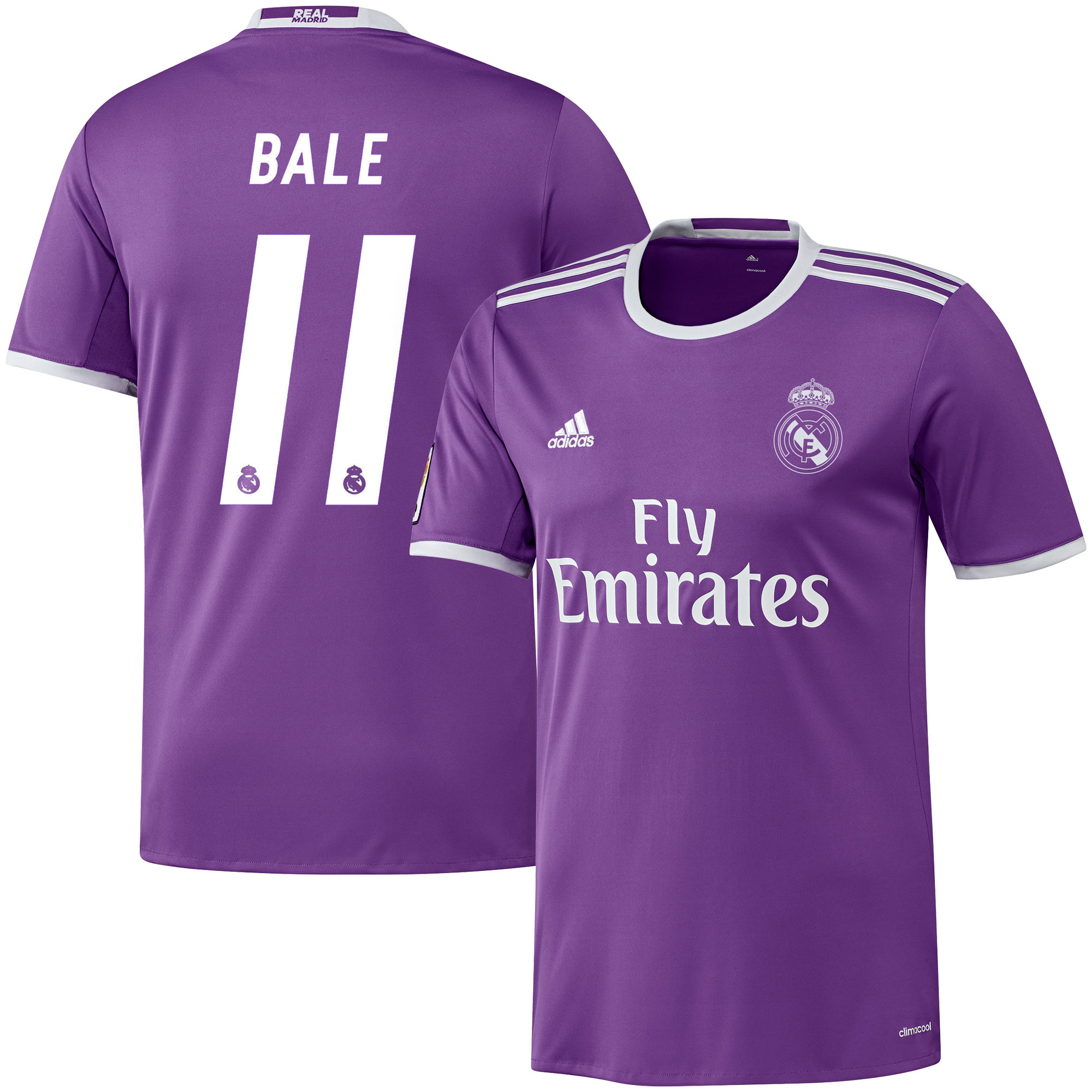 Real Madrid Away Bale Jersey 2016 / 2017 (Official Printing) - 42