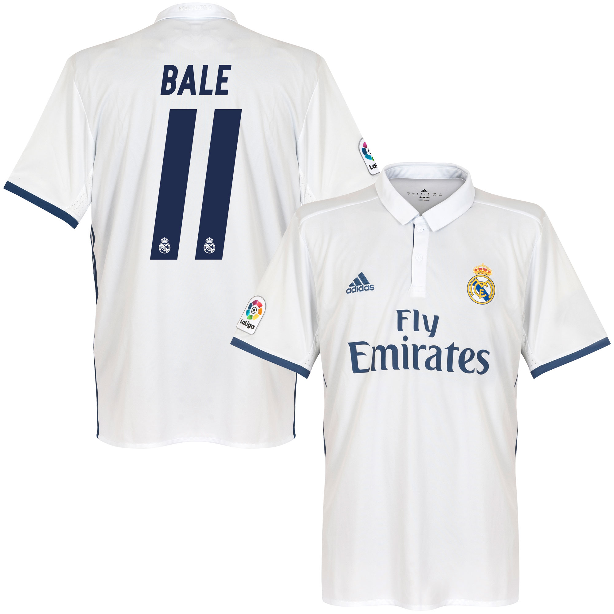 Real Madrid Home Bale Jersey 2016 / 2017 (Official Printing) - 58