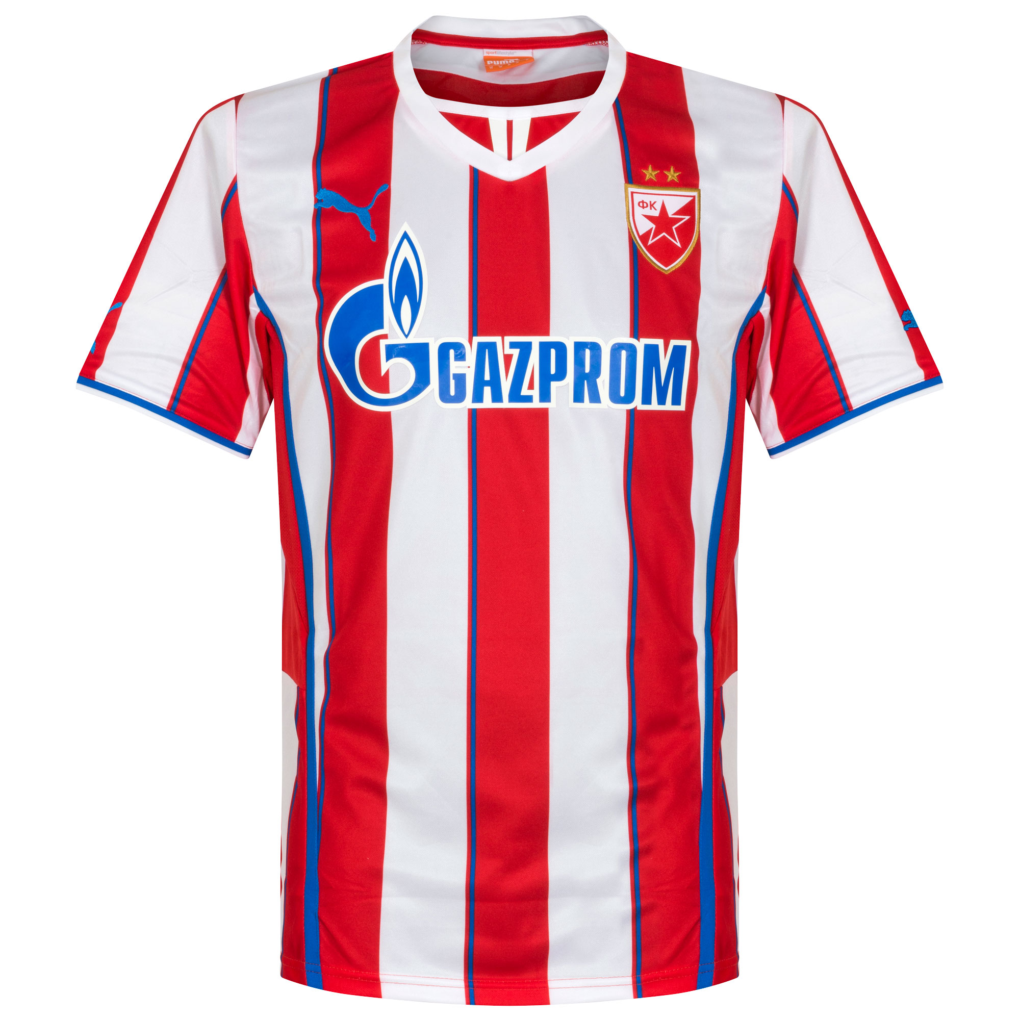bfdd3b9b2ba Red Star Belgrade Home Shirt 2013 2014 - Authentic retro and classic vintage  Juventus football shirts