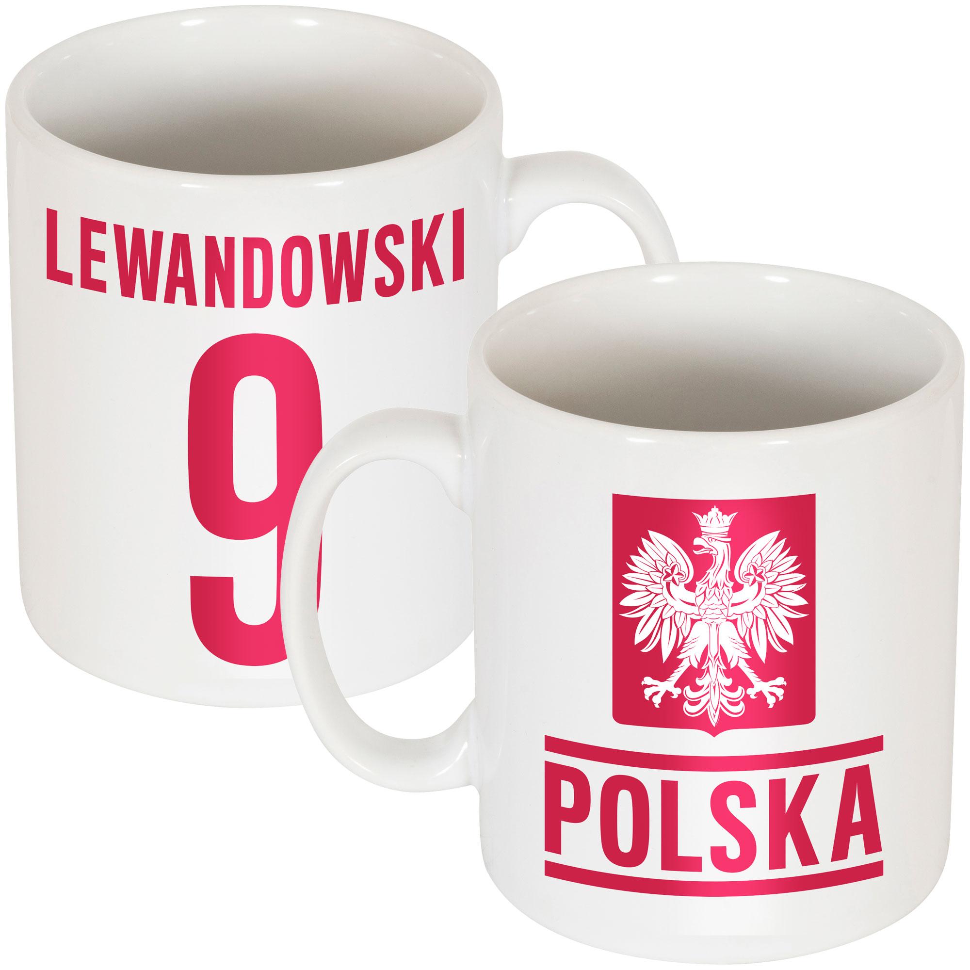 Poland Lewandowski Team Mug - OS