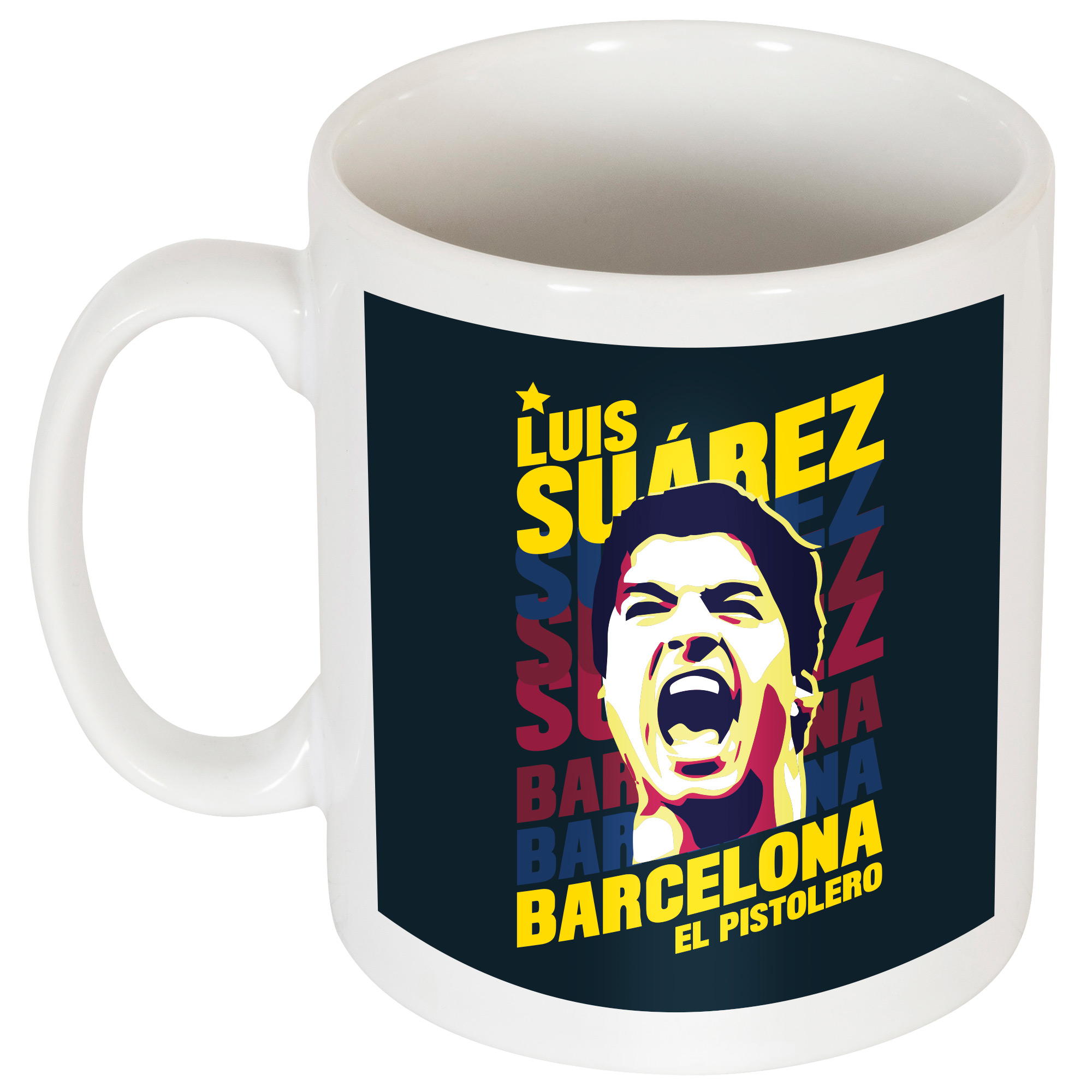 Suarez Barcelona Portrait Mug - OS