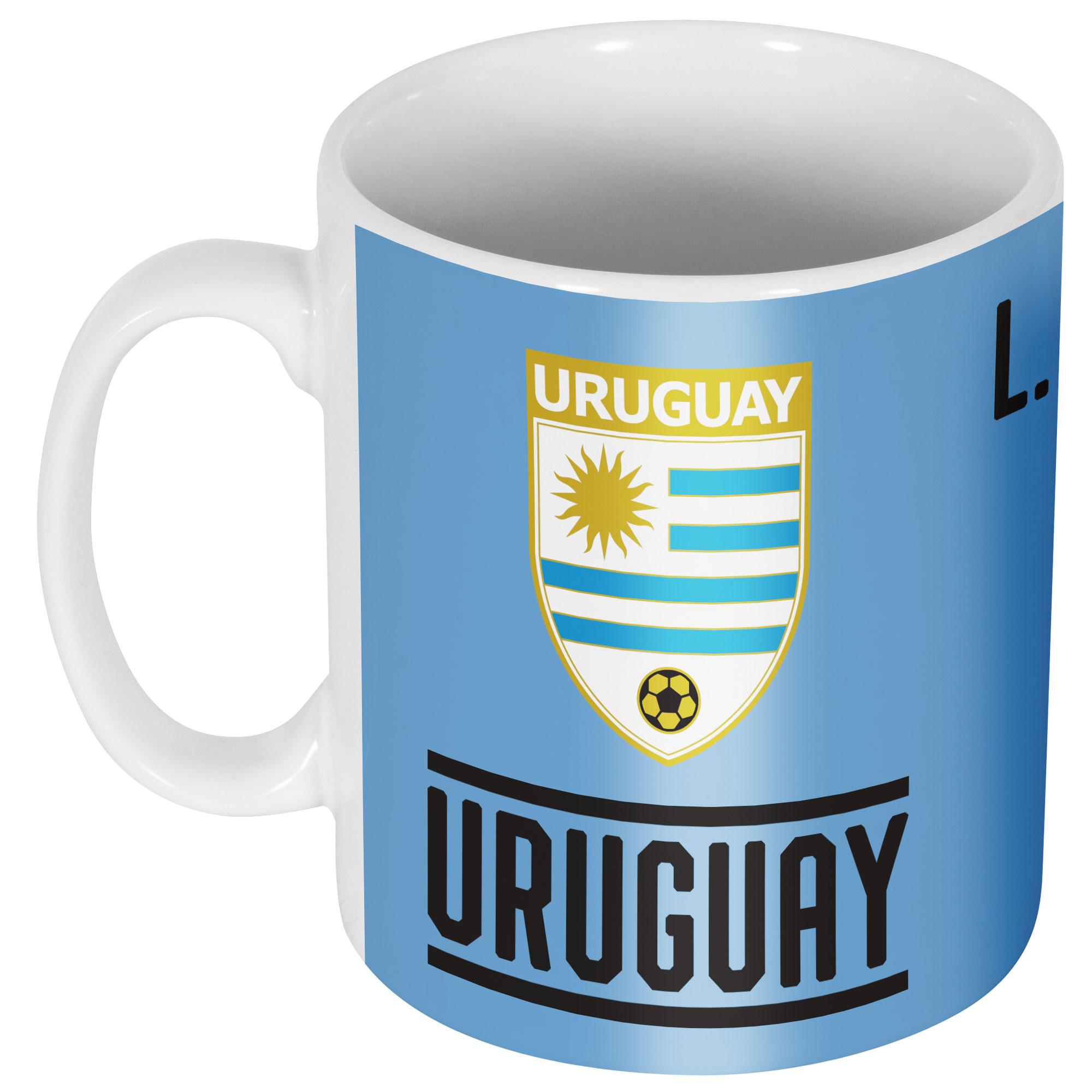 Uruguay Suarez 7 Team Mok