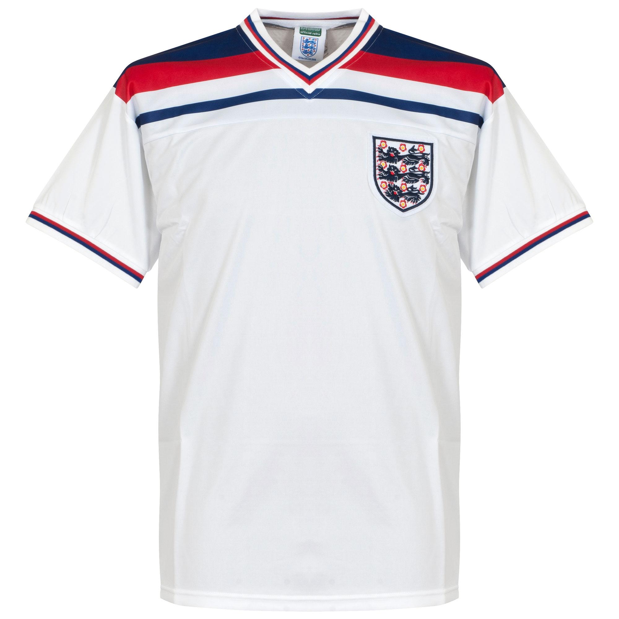 1982 England Home Retro Shirt