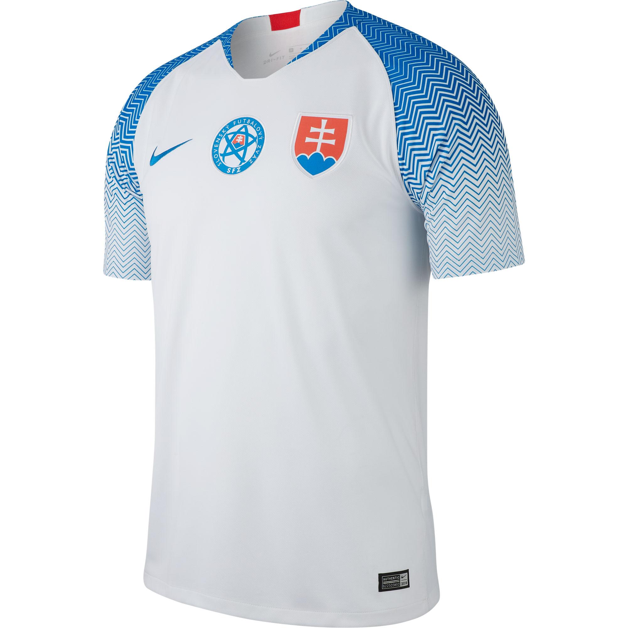Slovakia Home Shirt 2018 2019