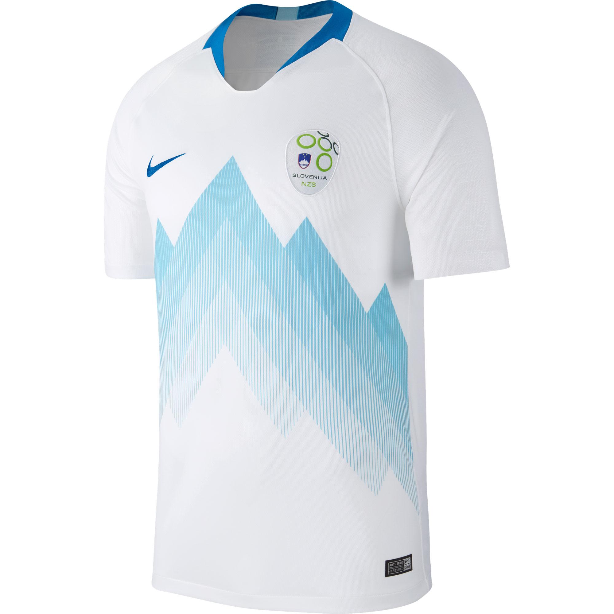 Slovenia Home Shirt 2018 2019