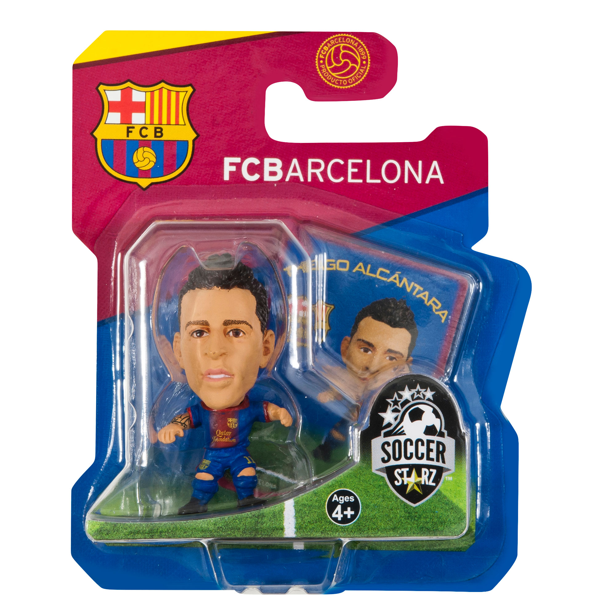 Barcelona Soccerstarz Thiago 12-13 Home Kit