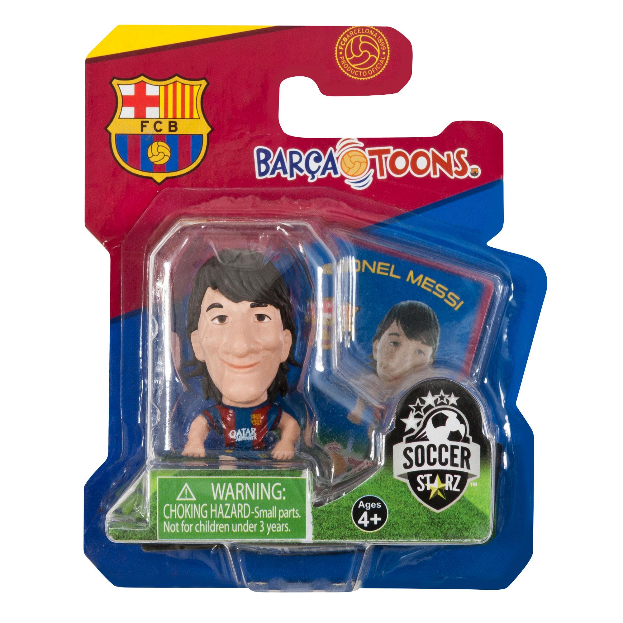 Barcelona Soccerstarz Barcatoons Messi 14-15 Home Kit