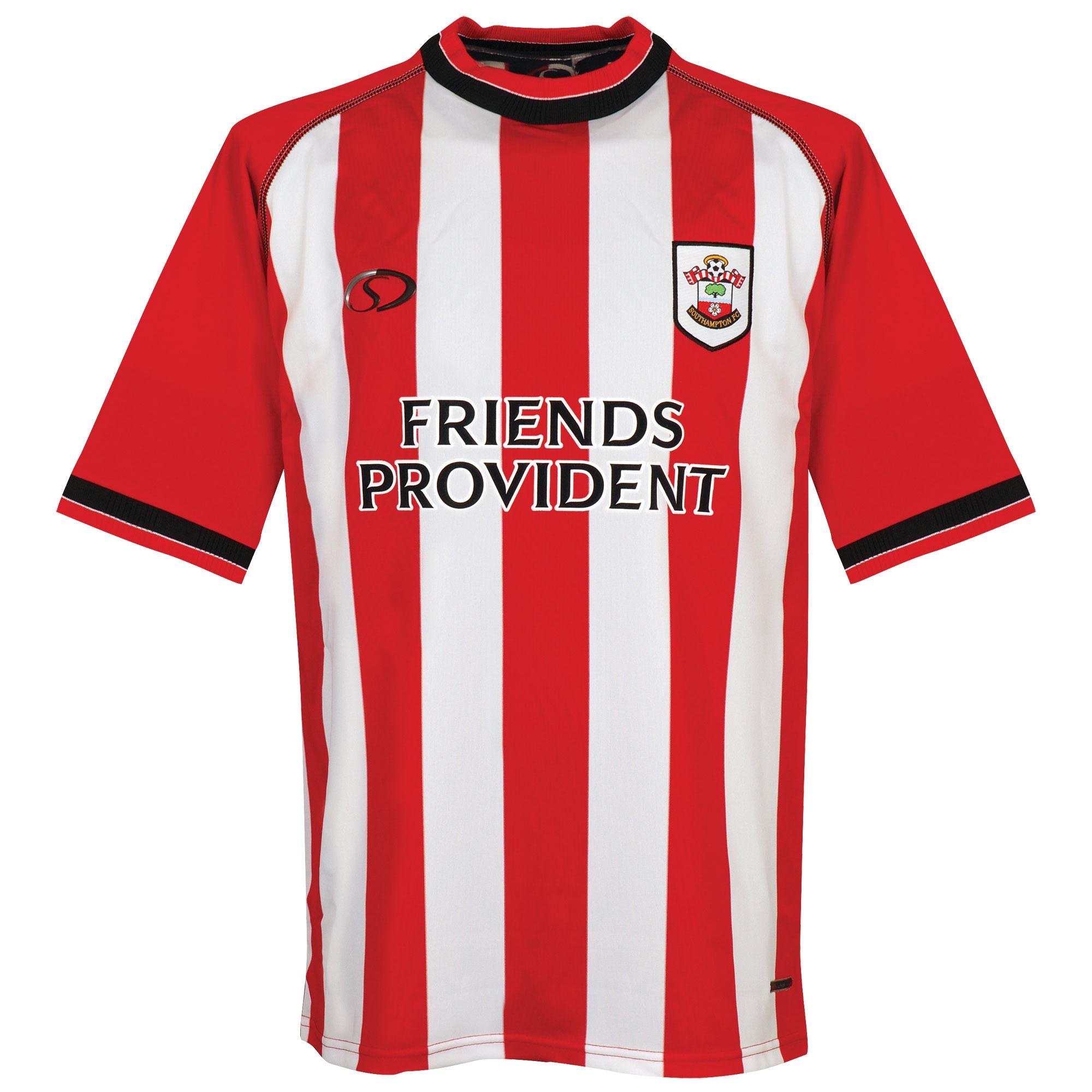 Saints Authentic Southampton 2003-2005 Home Shirt Player Issue (Damaged) - Size XL - XL