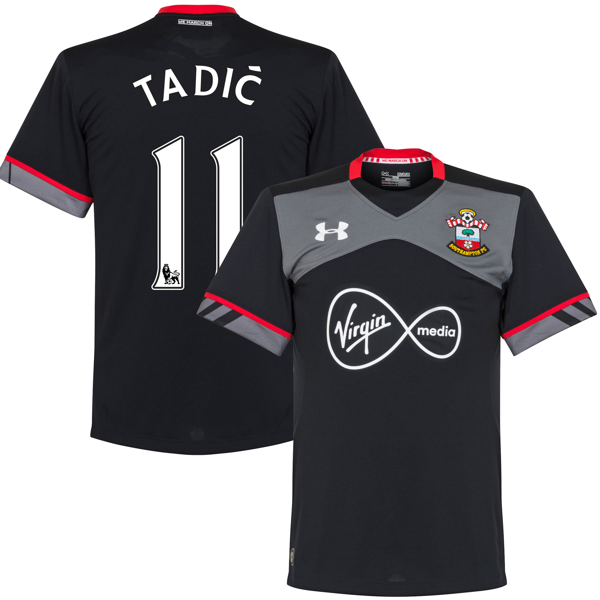 Southampton Away Tadic Jersey 2016 / 2017 (PS-Pro Player Printing) - M