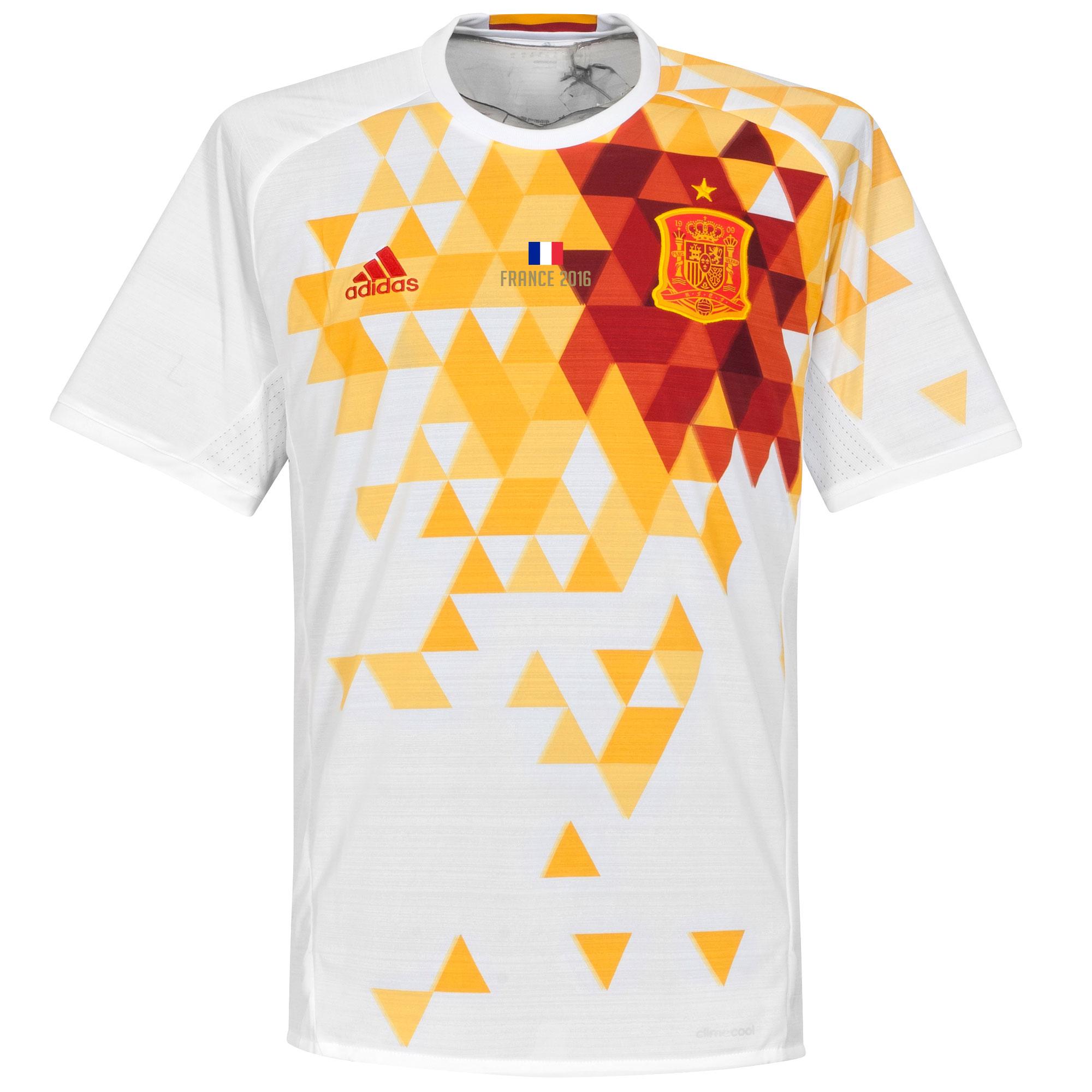 Spain Away Jersey 2016 / 2017 + France 2016 Transfer - 46