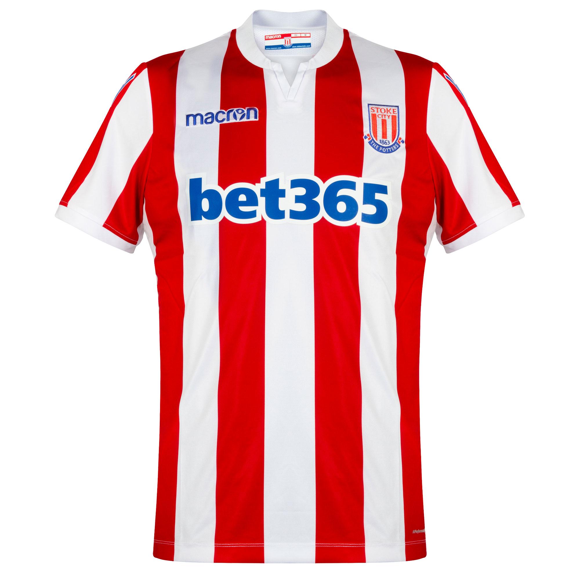 Stoke City Home shirt