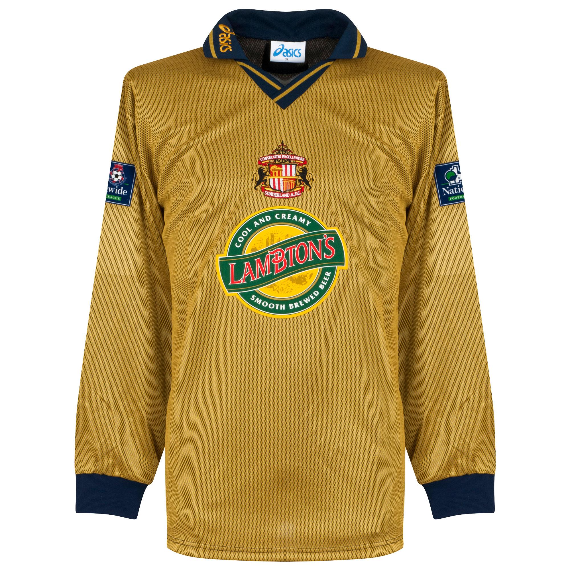 Sunderland Shirt Uit 1997-1998 (Lange Mouwen) Maat XL