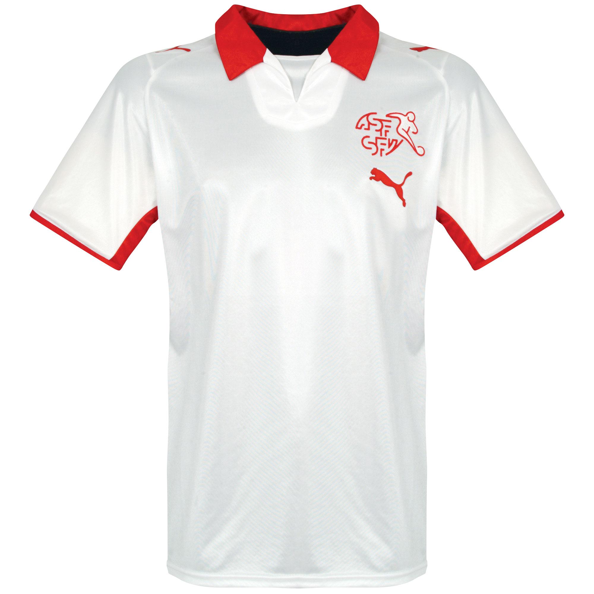 Puma Switzerland Mens SS Away Shirt 2007 Image