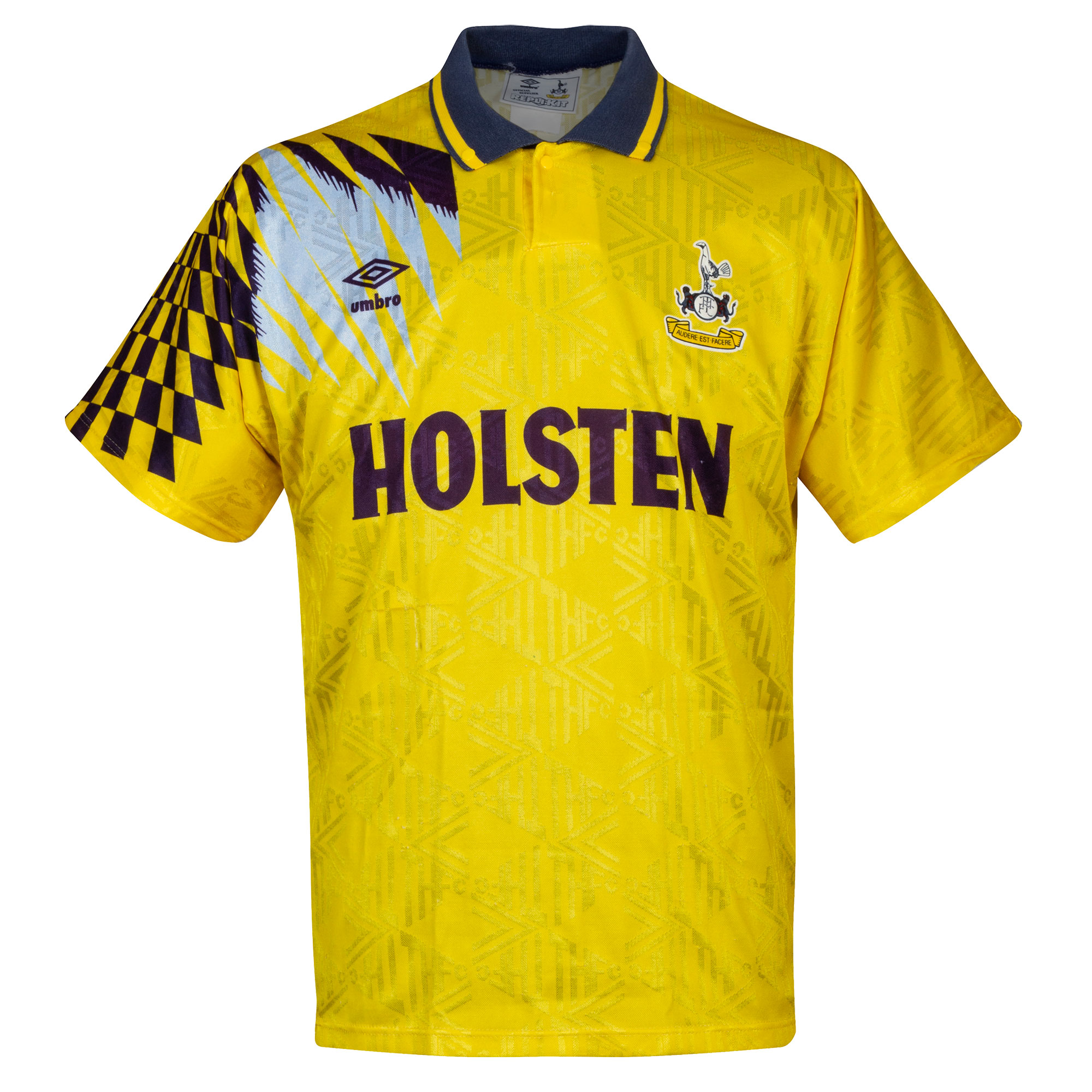 Umbro Tottenham Hotspur Away 1991-1994 Shirt - USED Condition (Poor) - Size Large