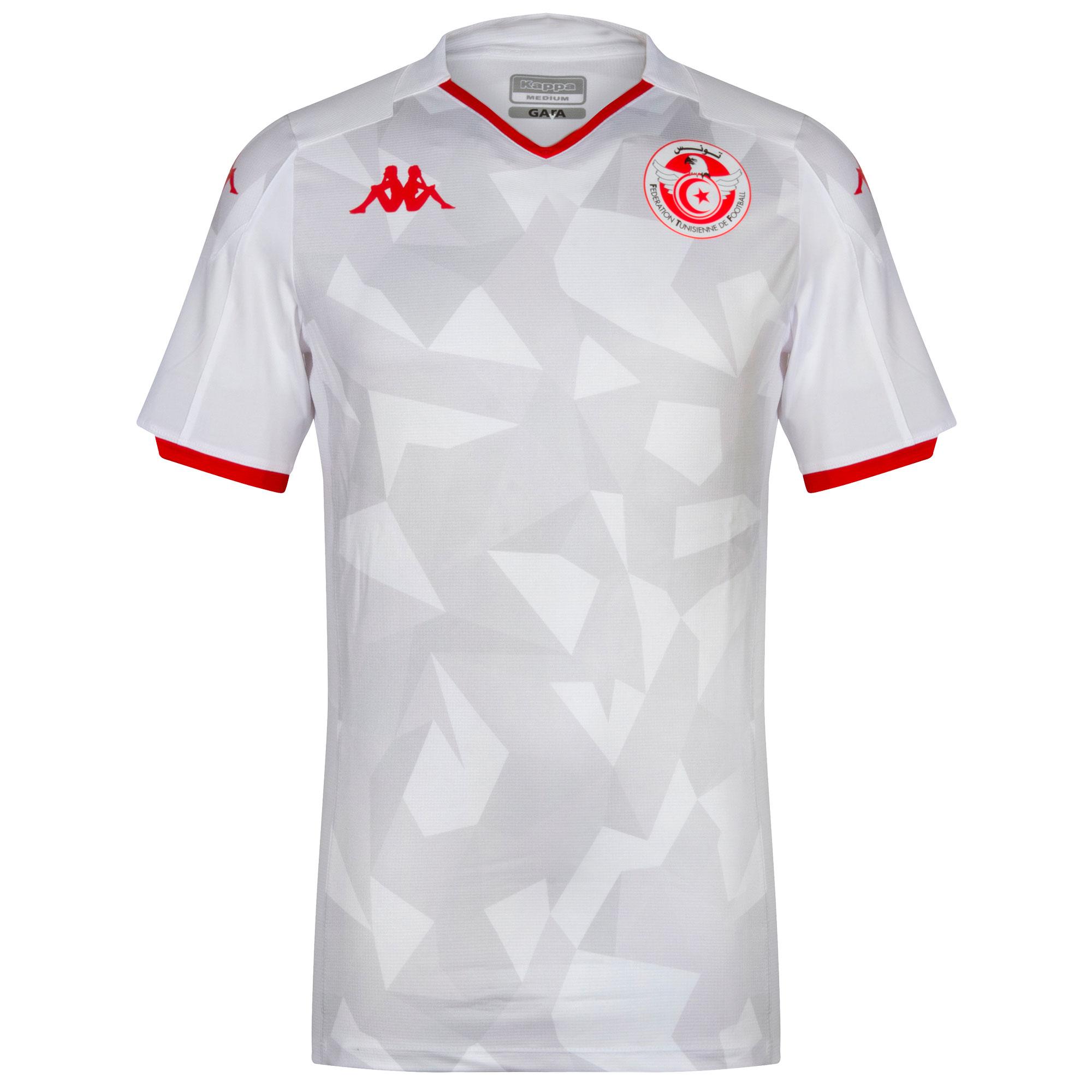 Kappa Tunisia Home Shirt (Kombat Pro - SkinFit) 2019-2020