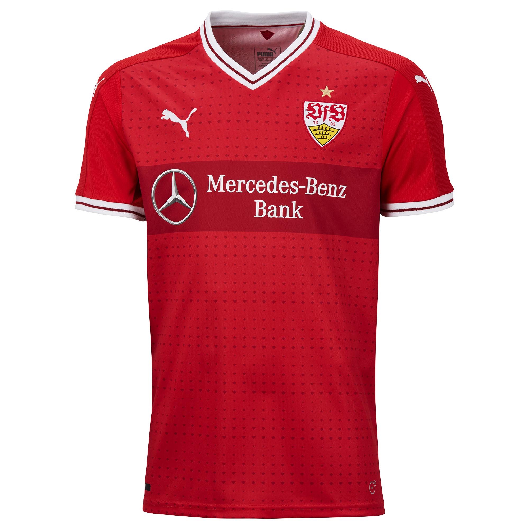 VfB Stuttgart Away Jersey 2017 / 2018 - S