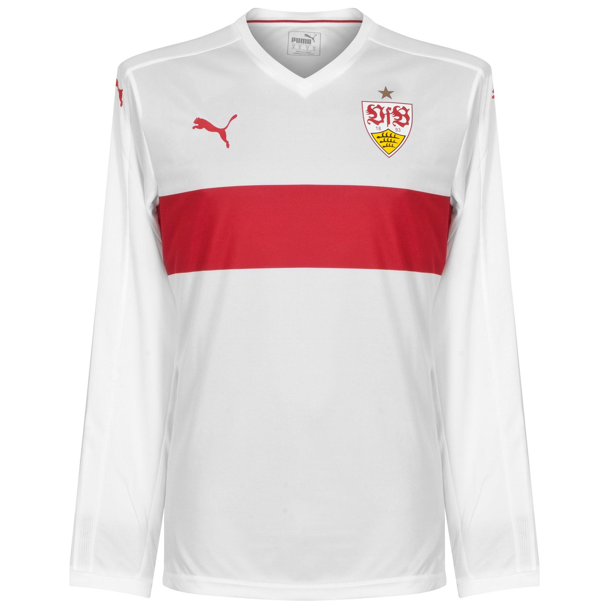 VFB Stuttgart Home L/S Pllayers Jersey 2015 / 2016 - S