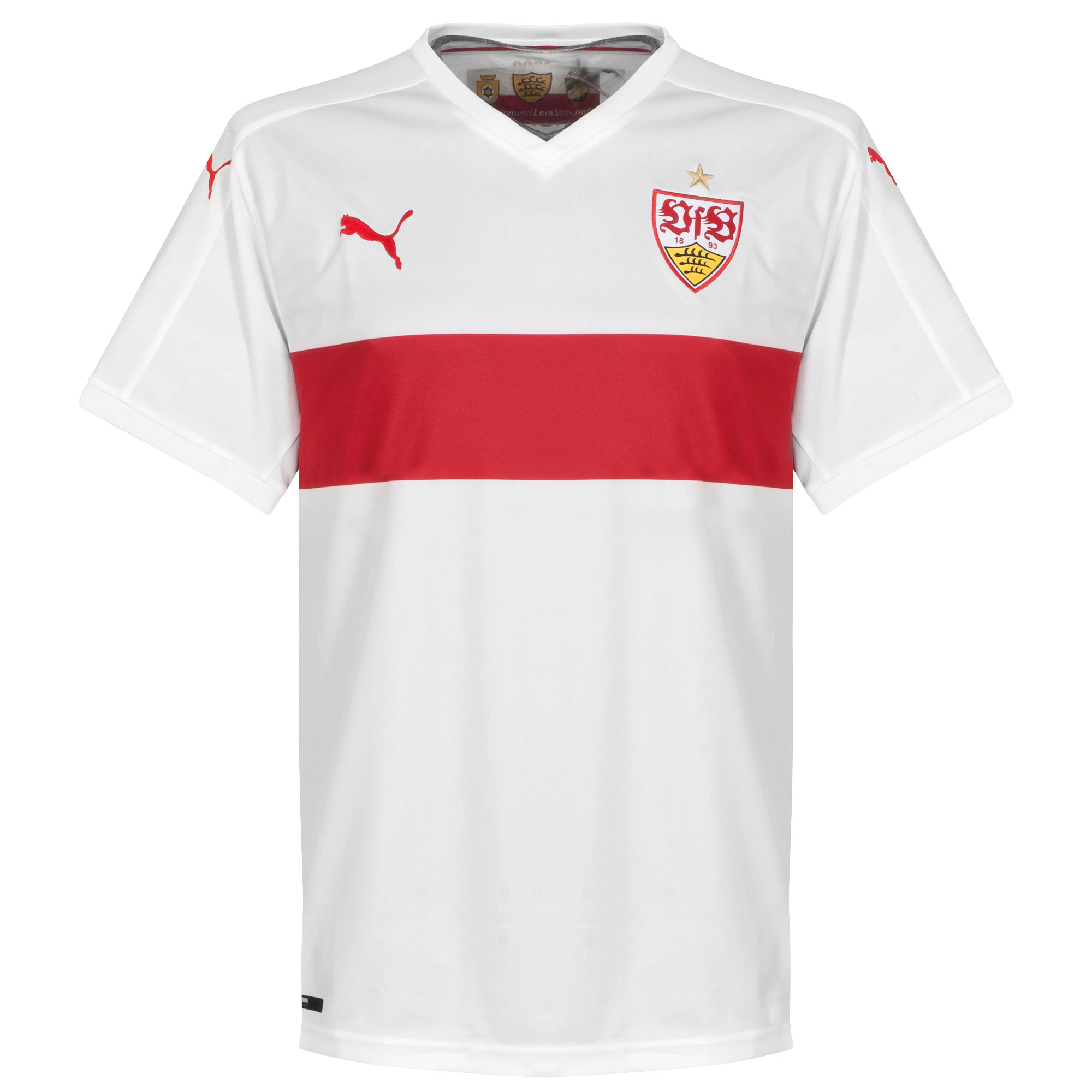 VFB Stuttgart Home Players Jersey 2015 / 2016 - Unsponsored - S