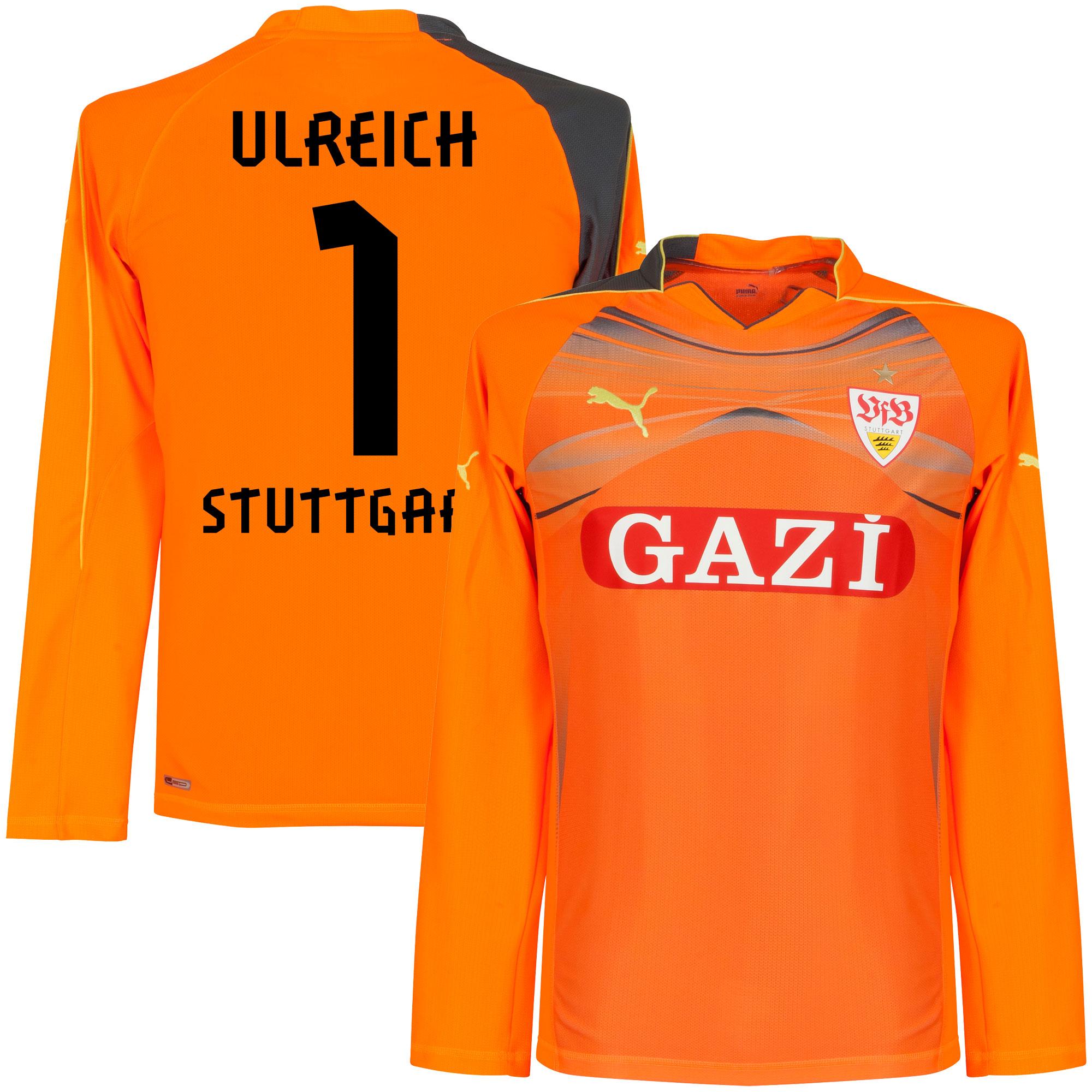 11-12 VfB Stuttgart GK Jersey + Ulreich 1 (Fan Style Printing) - XXL