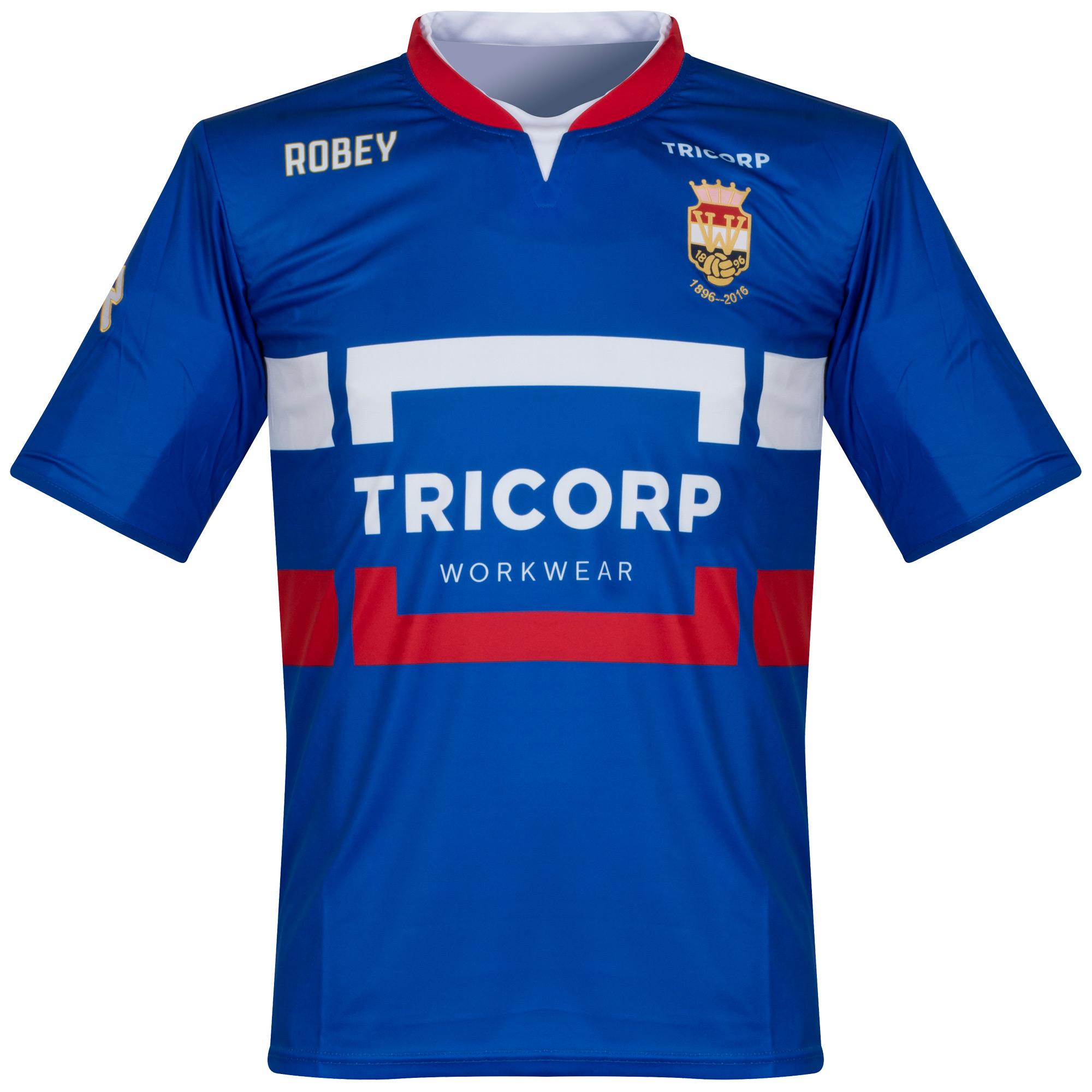 Willem II Away Shirt 2016 2017 - XXXXL