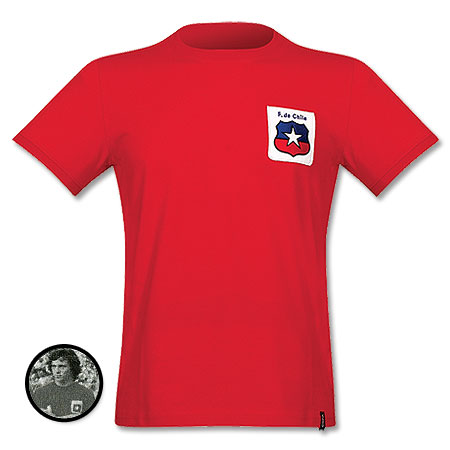 1974 Chile Home shirt