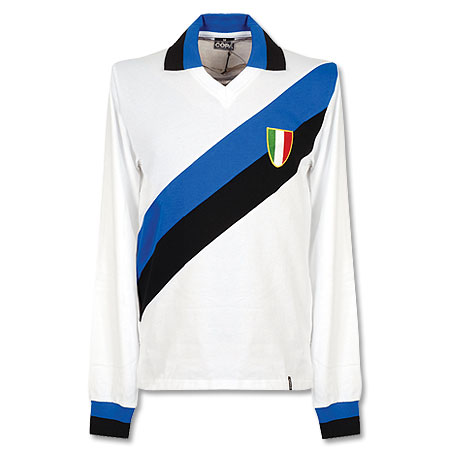 1960's Inter Milan Away L/S Retro Shirt