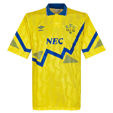 90-92 Everton Away Shirt - Used