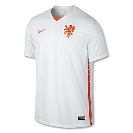 Holland Away Authentic Shirt 2015 2016
