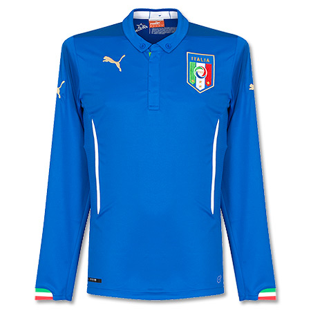 Italy Home L/S Shirt 2014 2015